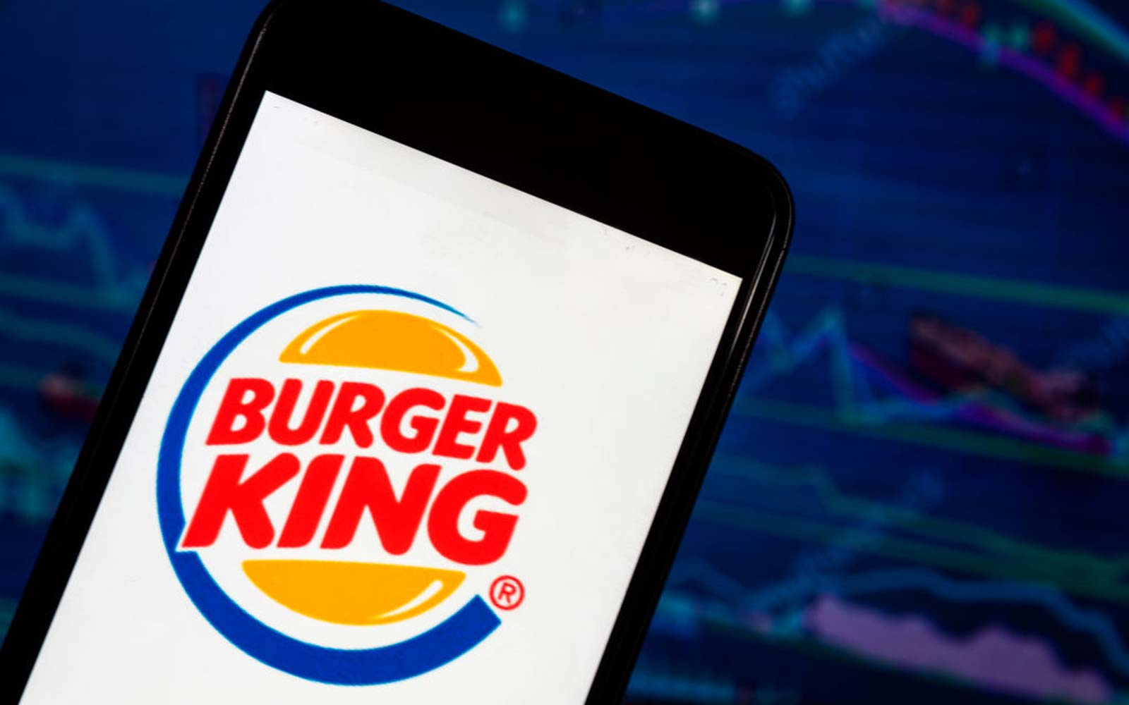 The Burger King application seen displayed on a smart phone