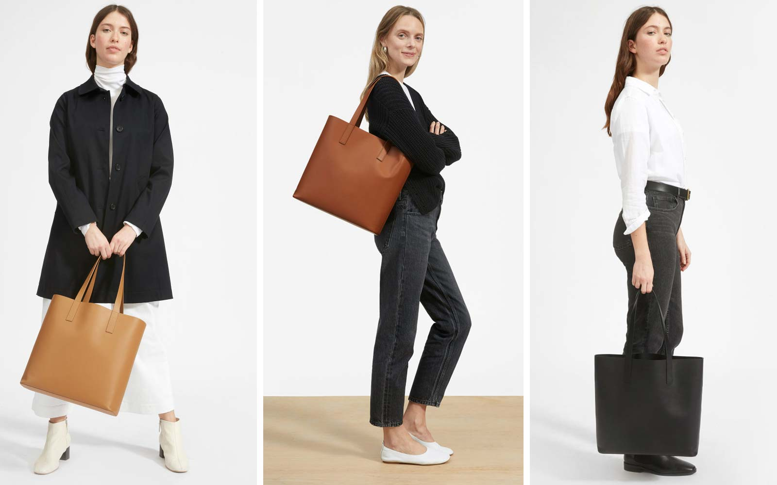Everlane Just Redesigned Meghan Markle's Favorite Tote — and It's the Perfect Travel Bag