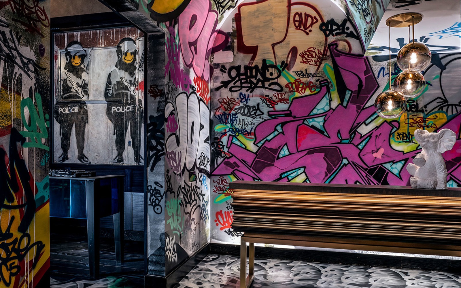 There's a Secret Banksy in This New Vegas Restaurant