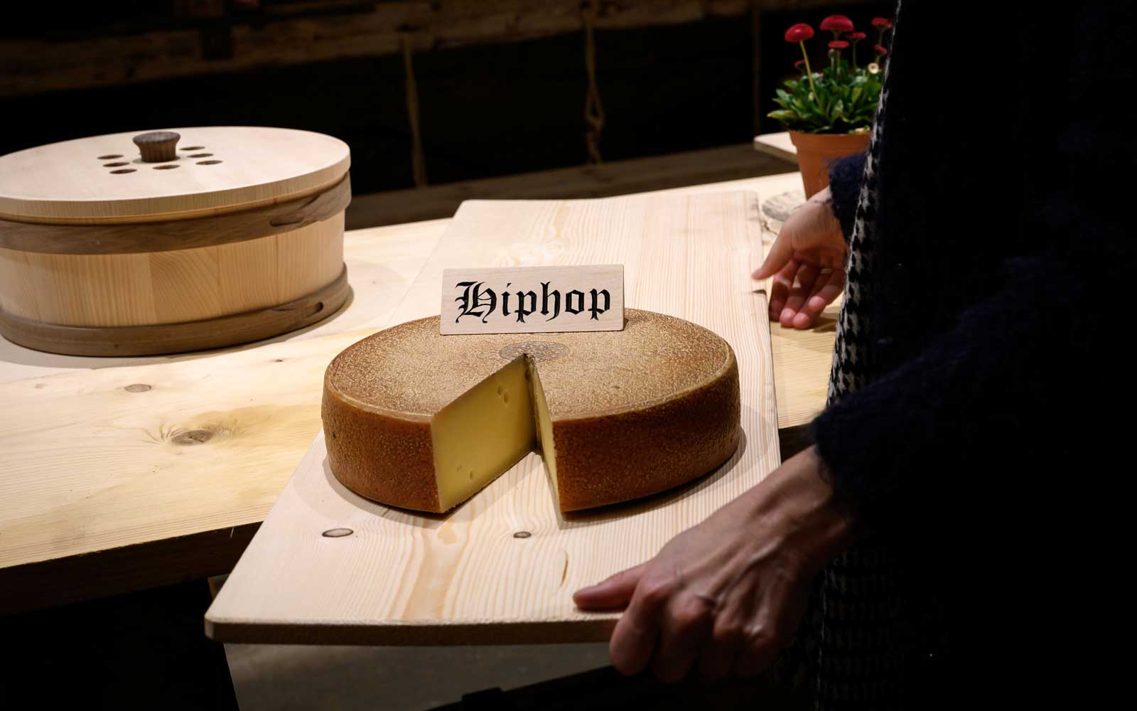 Cheese Tastes Better If It's Been Aged to Hip Hop, Swiss Cheesemakers Find