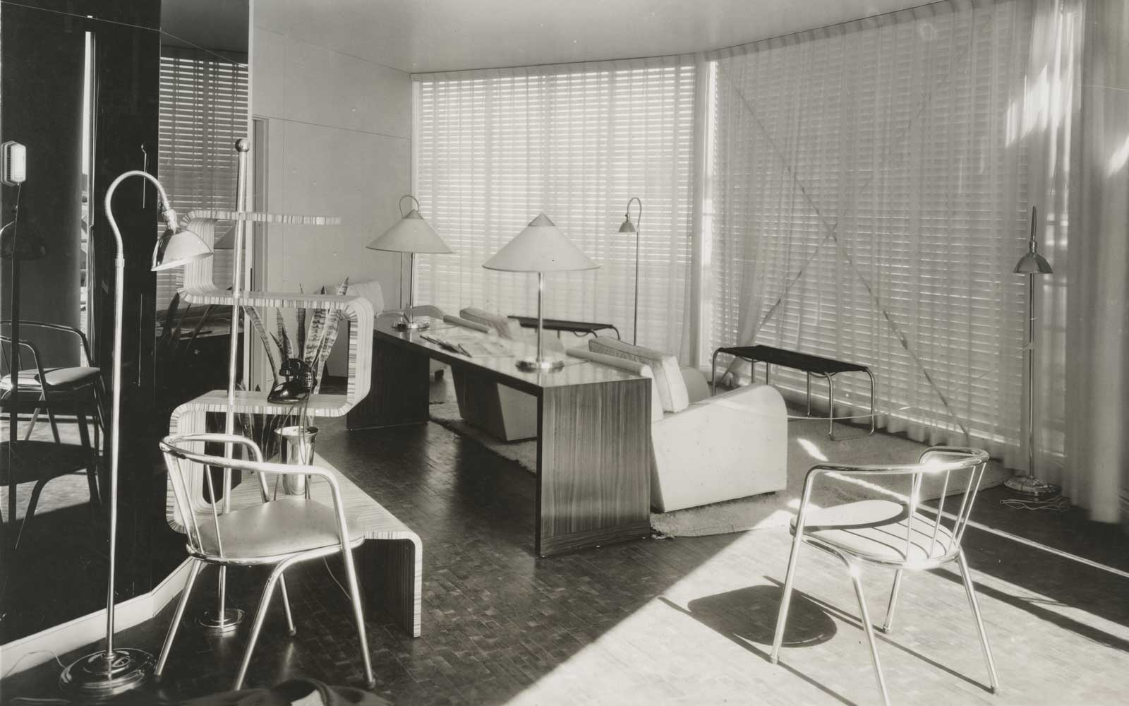 Original interior of the House of Tomorrow