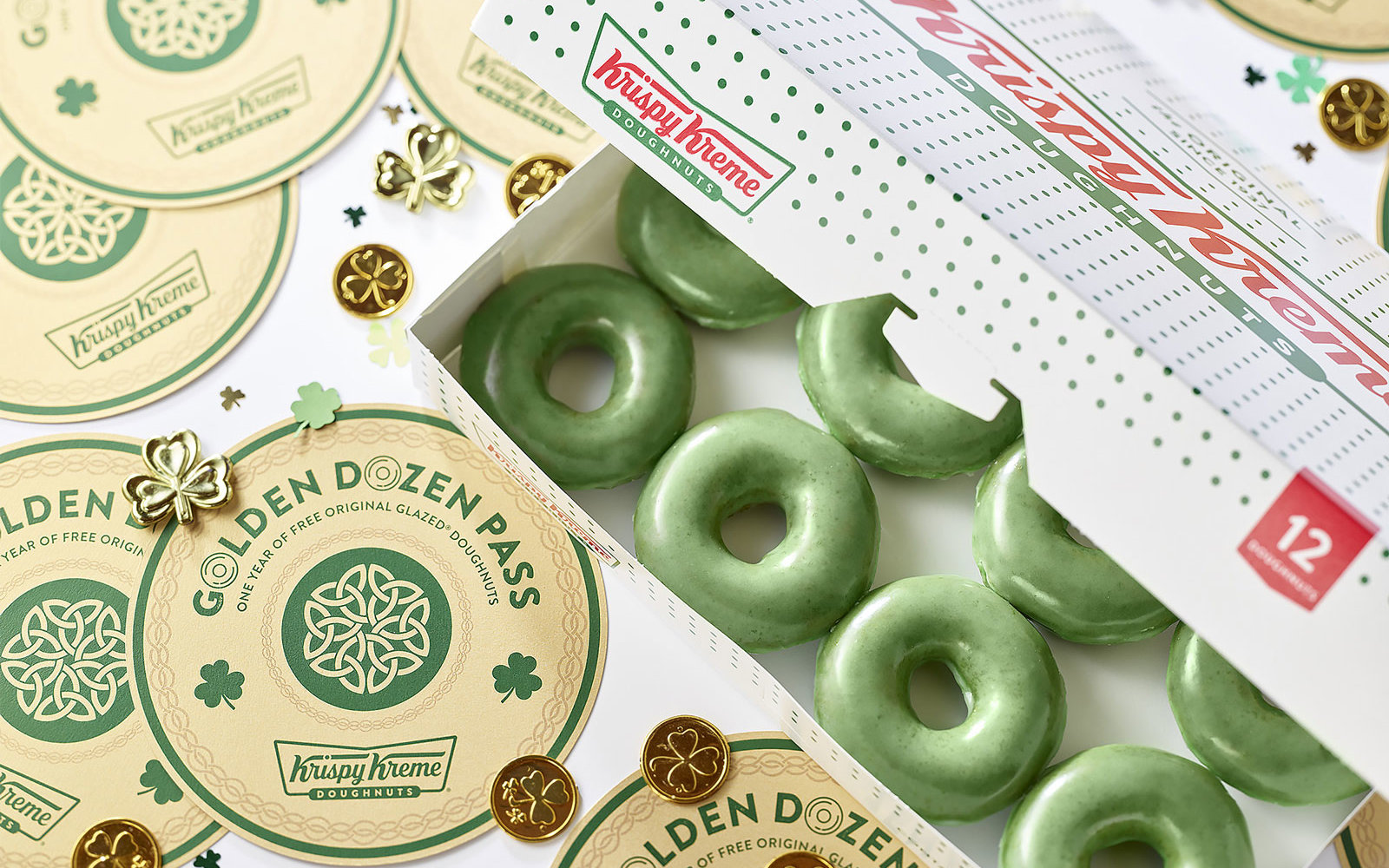 Krispy Kreme Is Giving Away Golden Tickets for a Year's Worth of Free Doughnuts