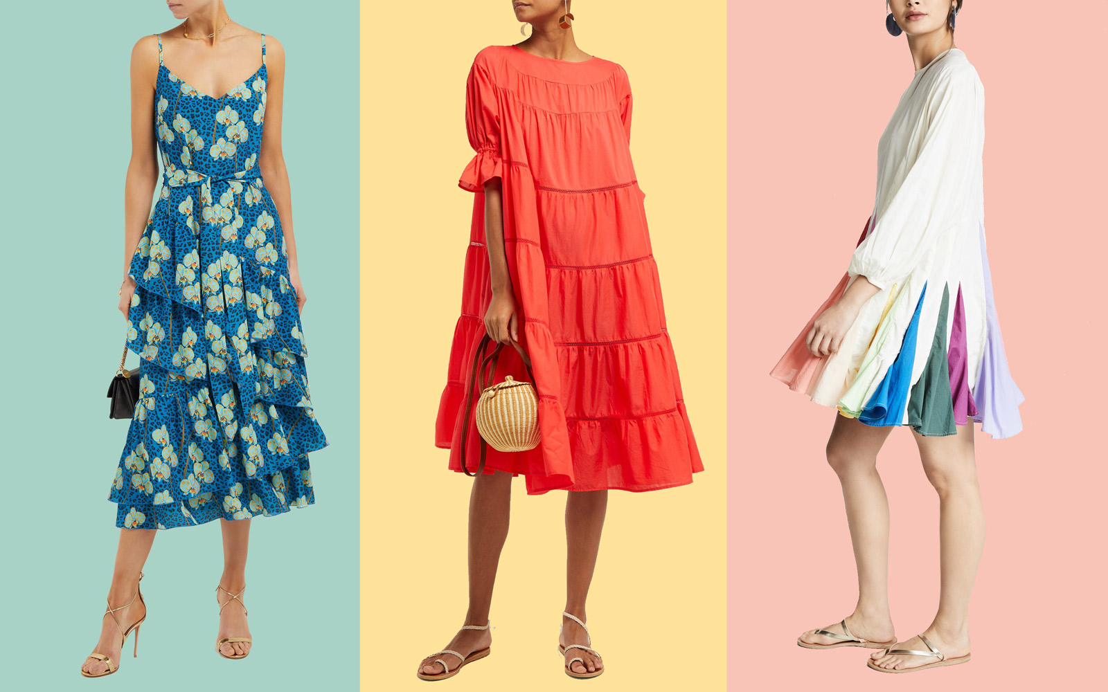 Where to Find the Prettiest Flowy Spring Dresses