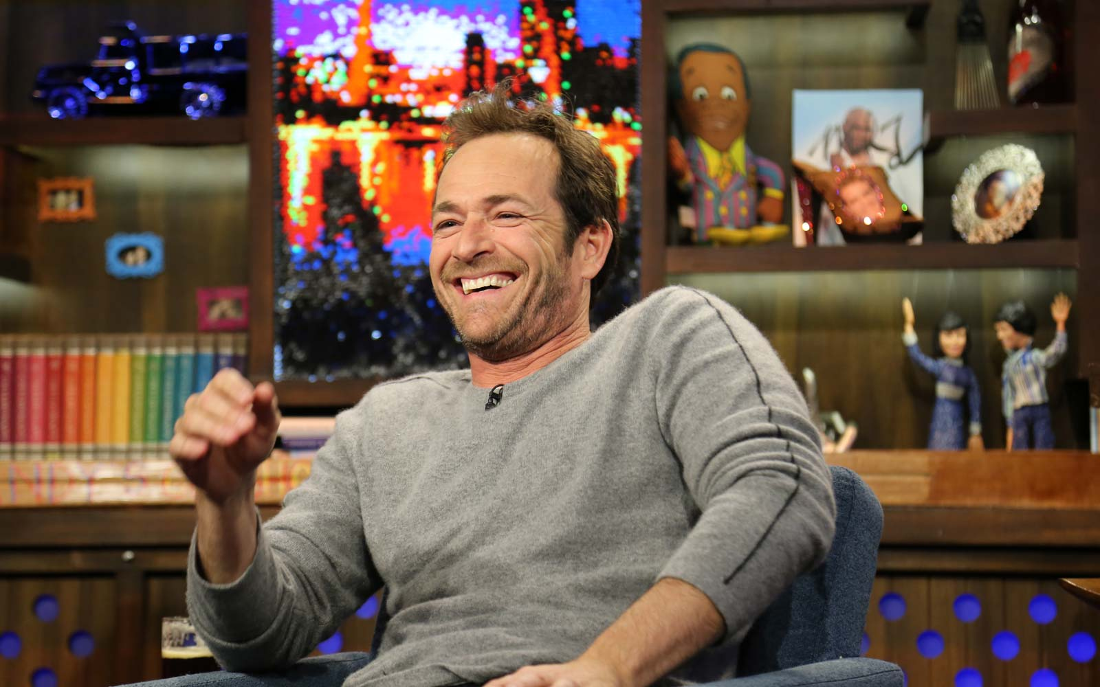 Luke Perry on Watch What Happens Live