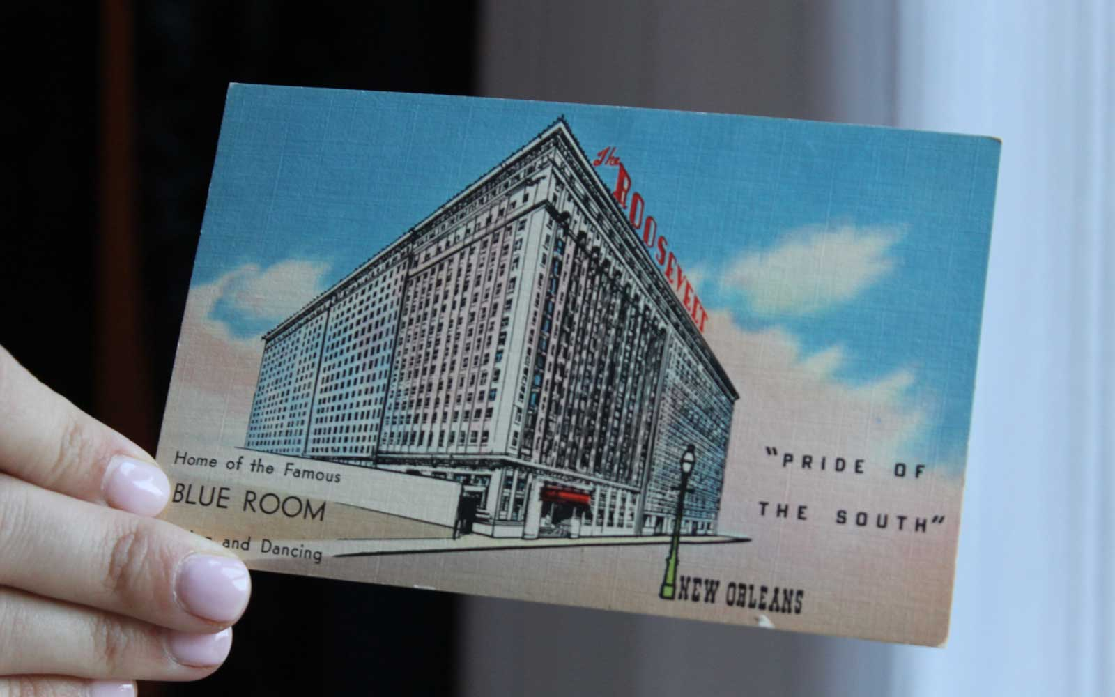 Historical Artifacts from Roosevelt Hotel in New Orleans