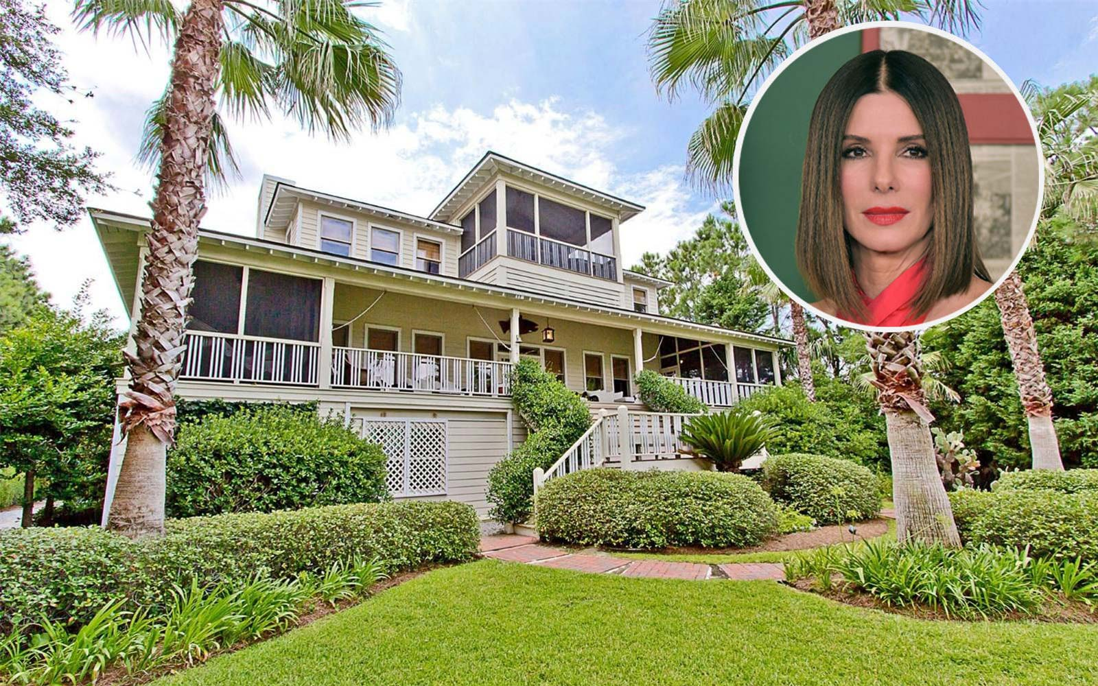 Step Inside Sandra Bullock's Adorable Tybee Island Escape