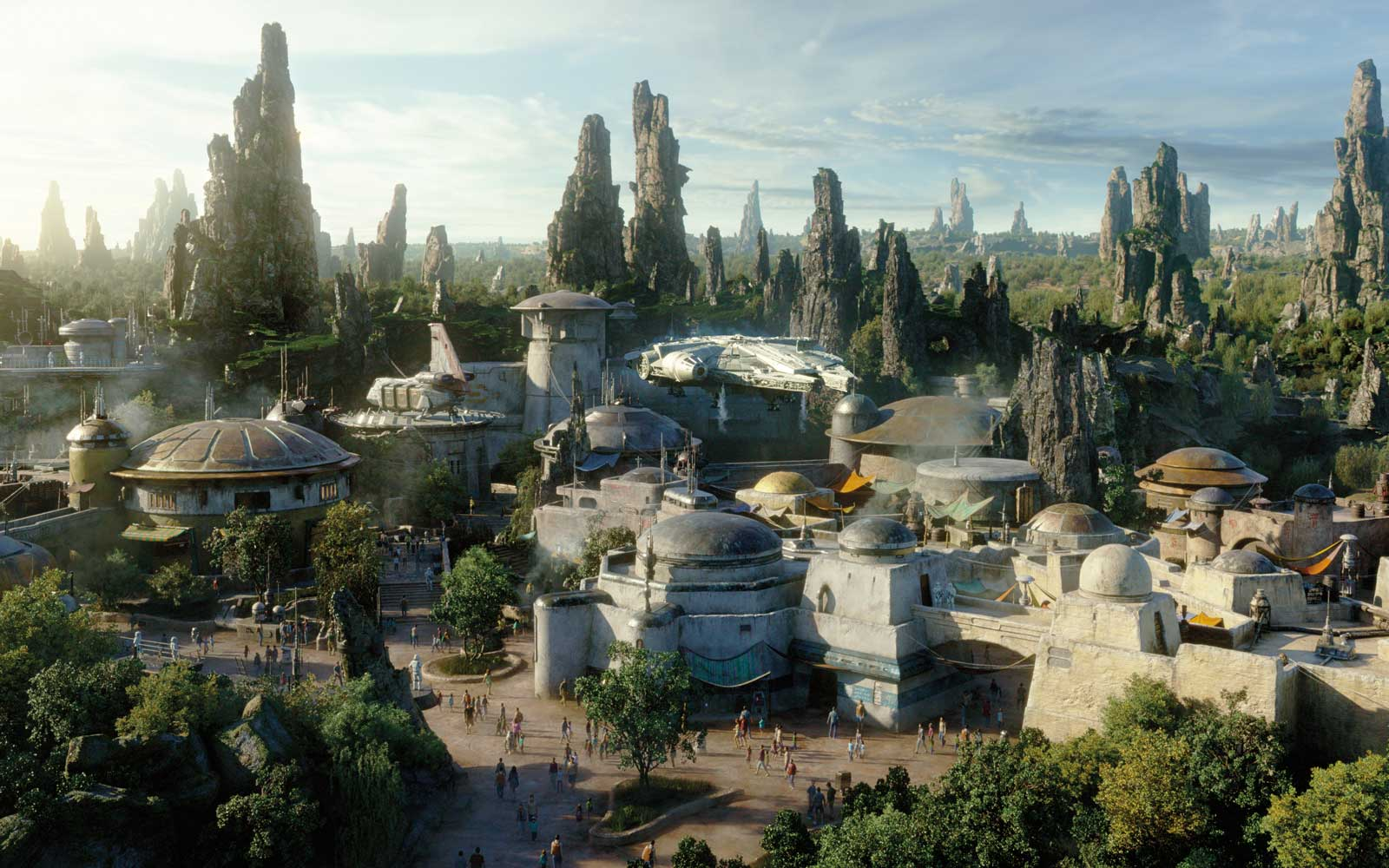 Why People Will Go All The Way to Star Wars Land and Not Ride Any Rides
