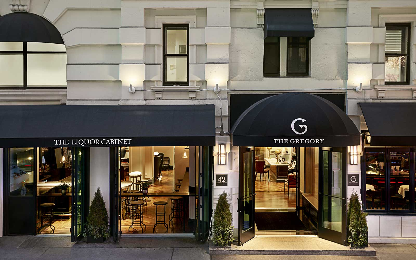 Exterior of The Gregory Hotel in New York