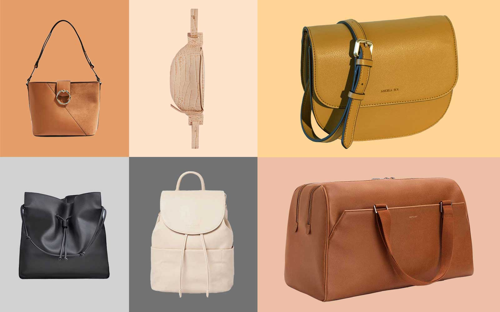 9 Stylish Vegan Leather Bags That Look Like the Real Thing