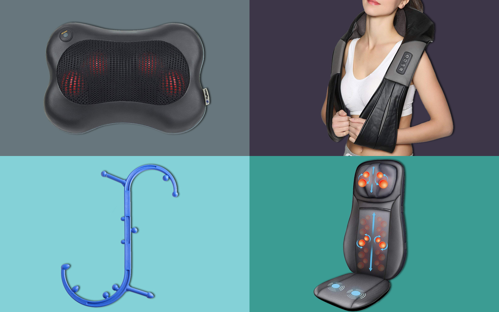The Best-selling Back and Neck Massagers on Amazon