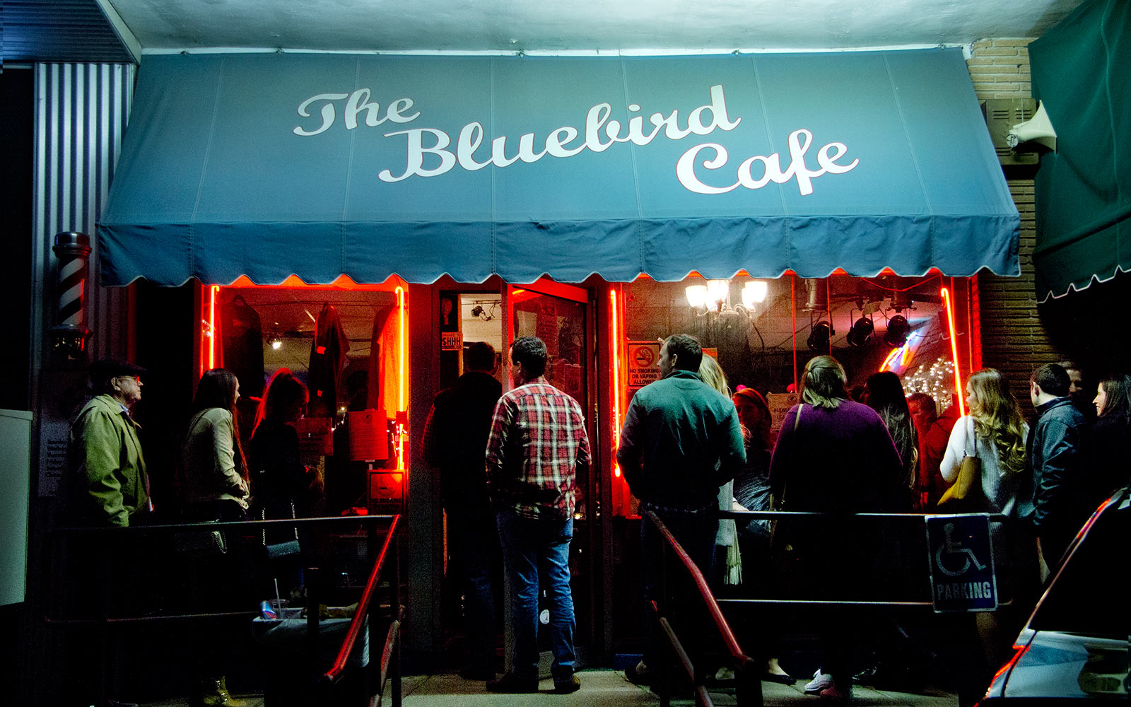 The Bluebird Cafe Line Outside