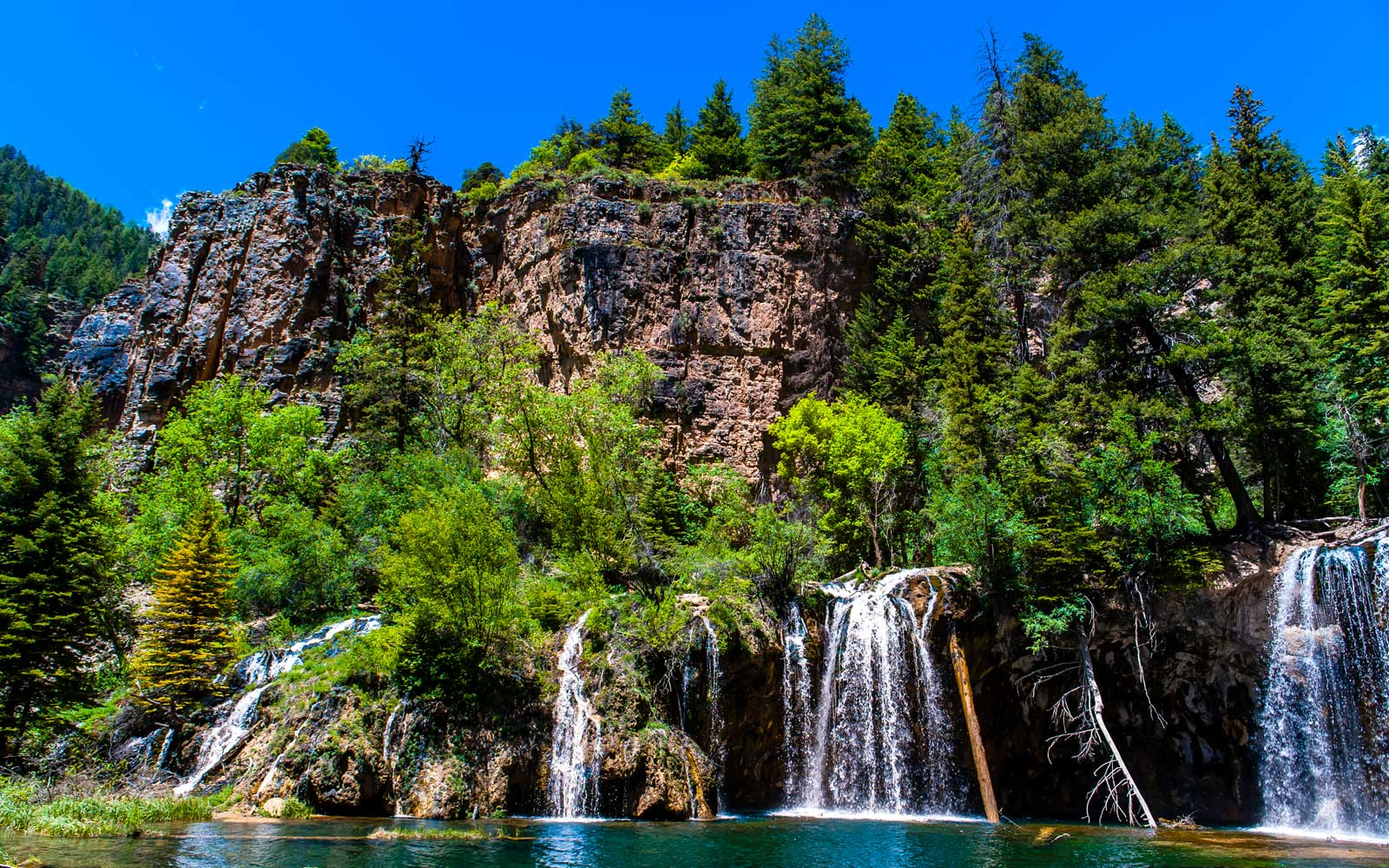 Bridal Veil Falls, Hanging Lake, Glenwood Canyon