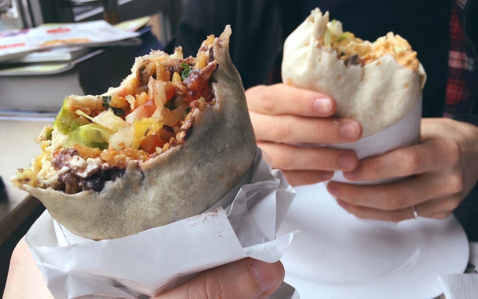 It's National Burrito Day! Here's Where You Can Get Free Burritos and Other Great Deals