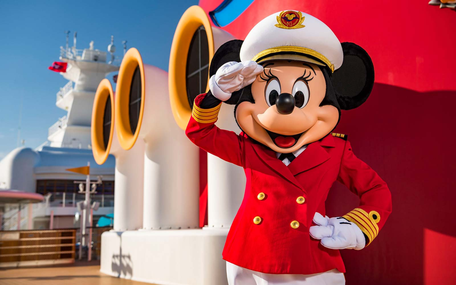 Disney Cruise Line Debuts Captain Minnie Mouse — and She's in Pants for the First Time Ever
