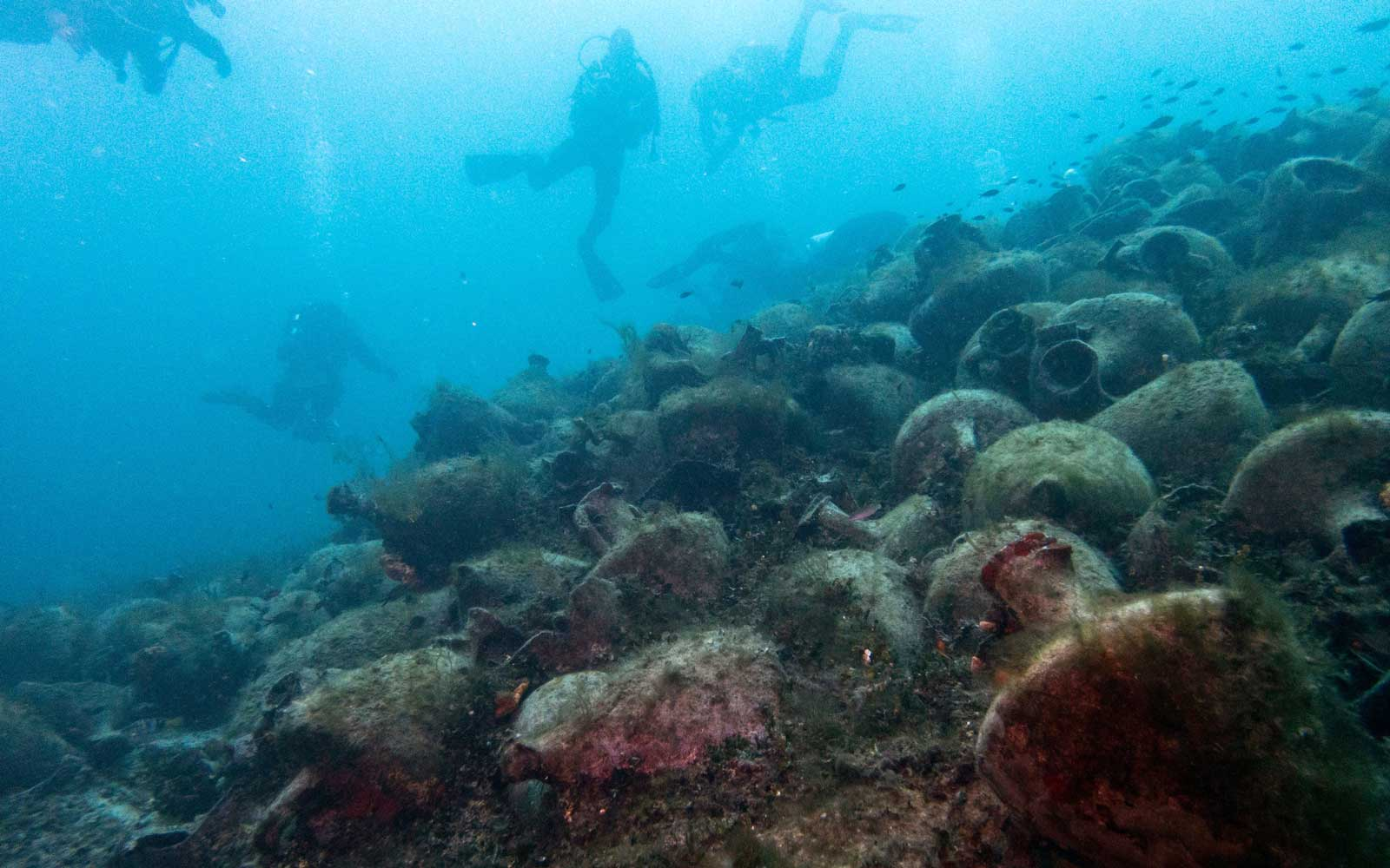 You Can Dive to Never-before-seen Ancient Shipwrecks in Greece
