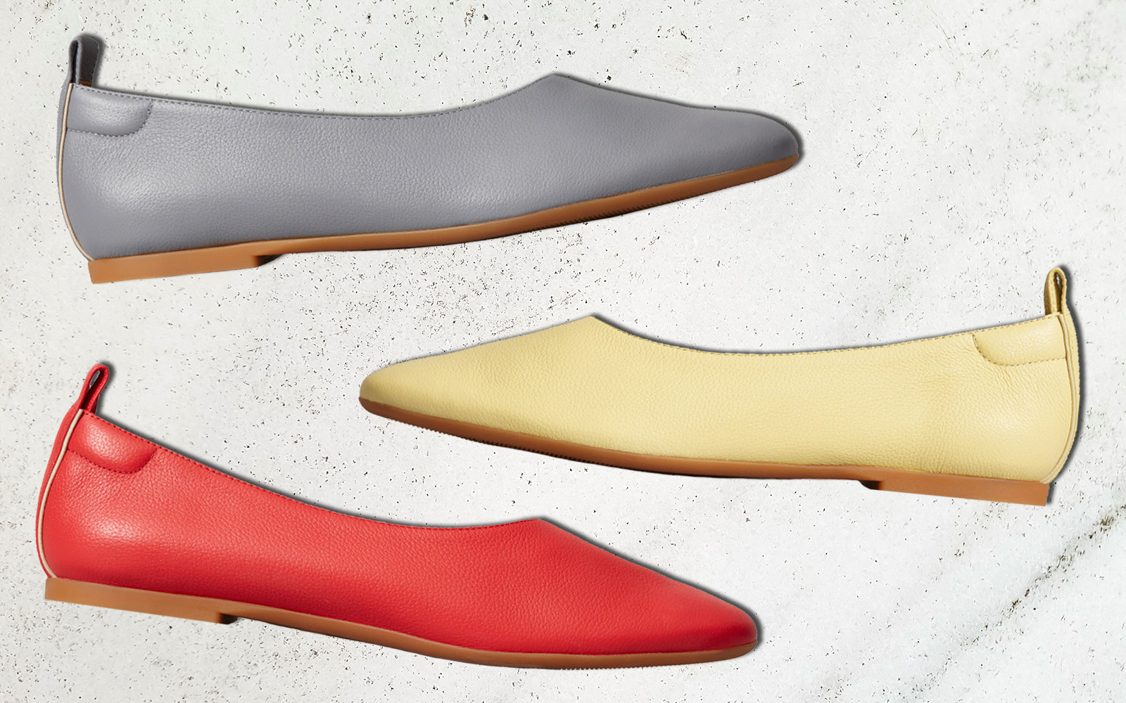 Everlane's Best-selling Comfy Flats Now Come in 3 Gorgeous New Colors for Spring