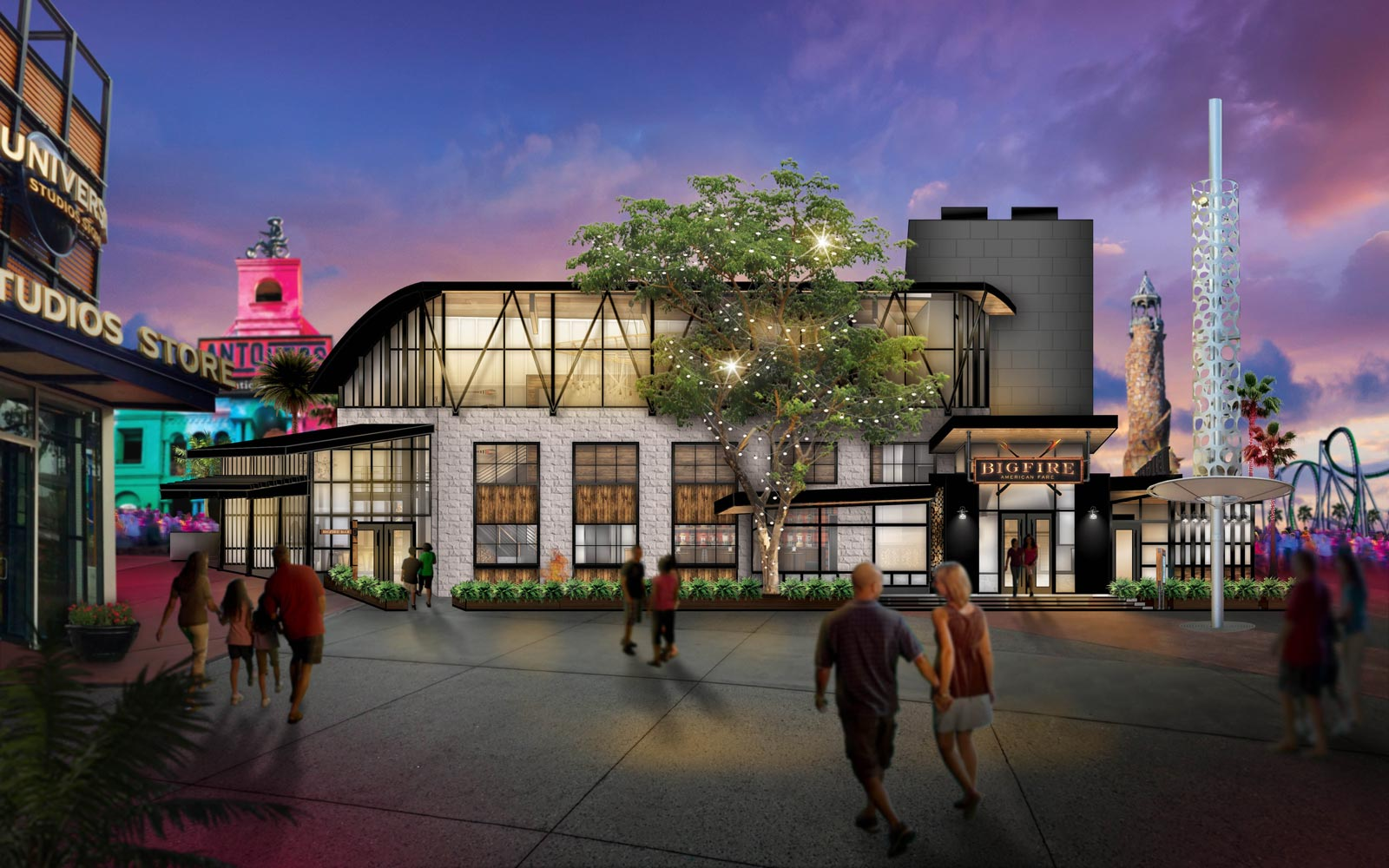 Universal Orlando's New Mountain-themed Restaurant Will Have Tableside S'mores and Lawn Games