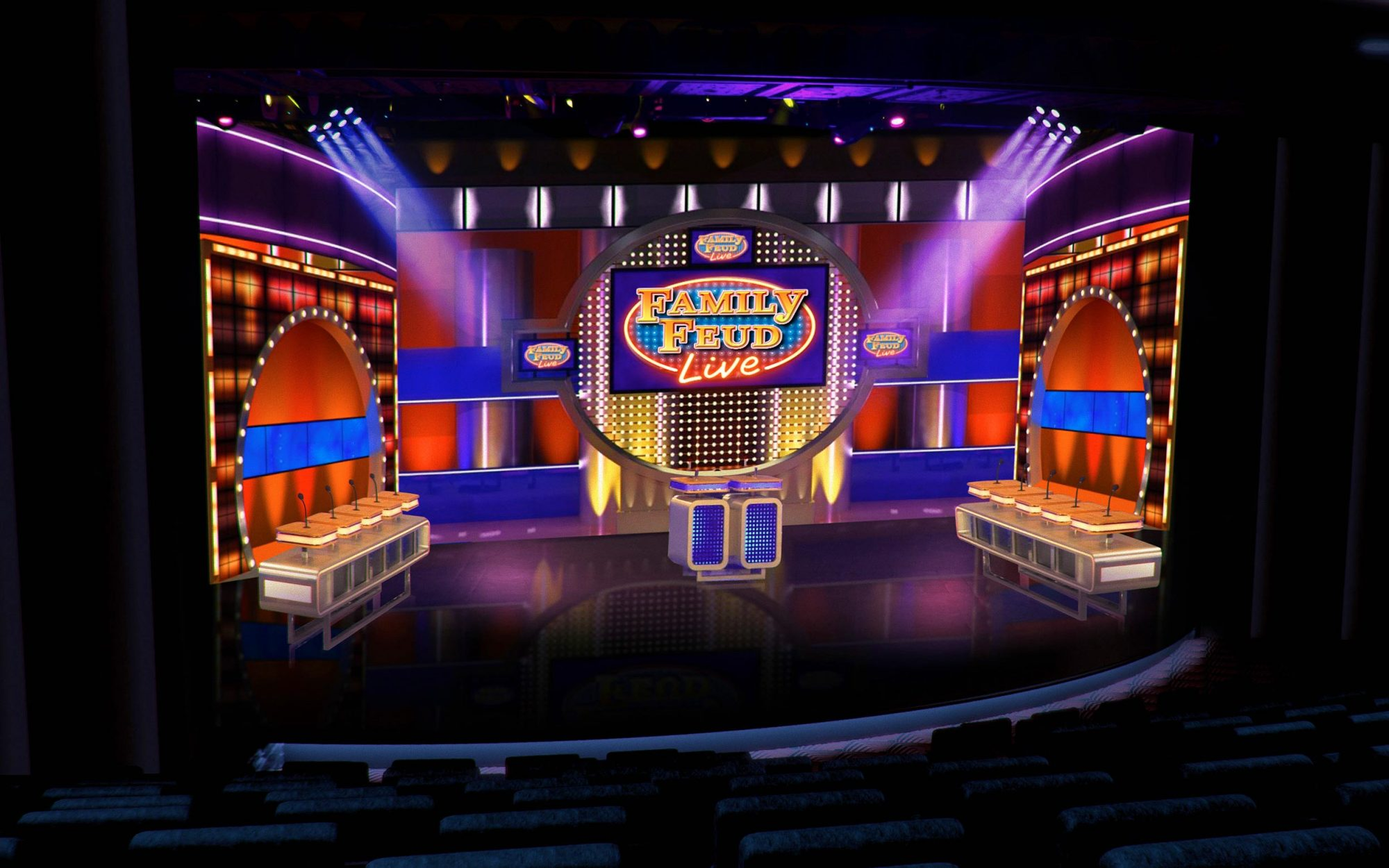 Family Feud on Carnival Cruise