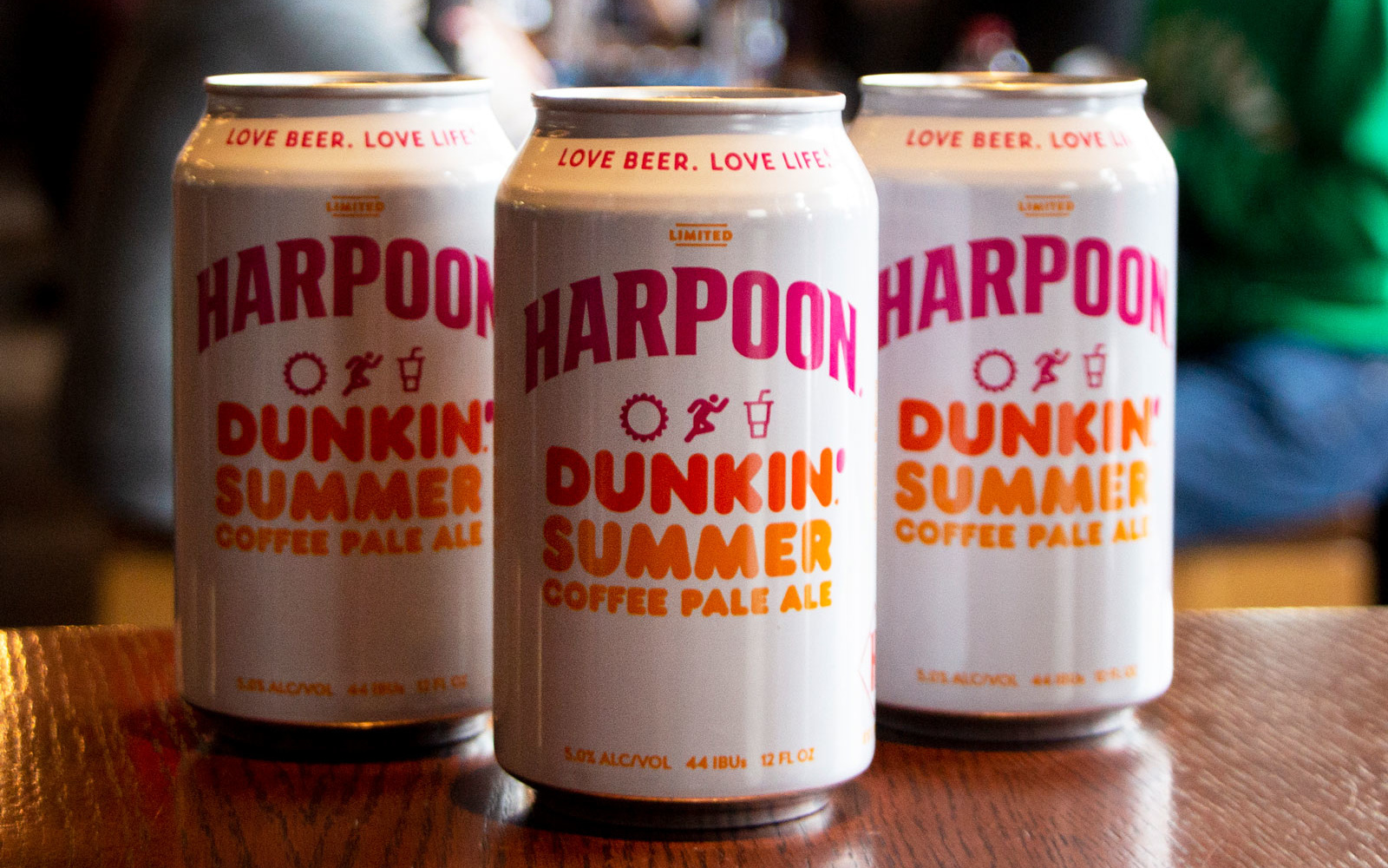 Dunkin' and Harpoon Brewery's New Beer Is Like a Hoppy Iced Coffee