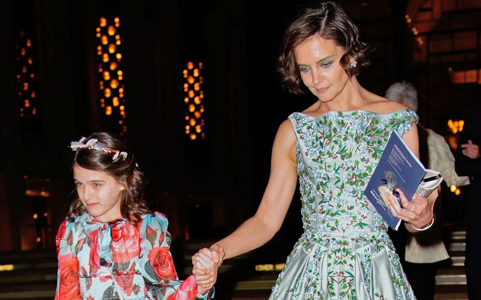 Katie Holmes Took Suri Cruise to Paris for Her 13th Birthday Celebration