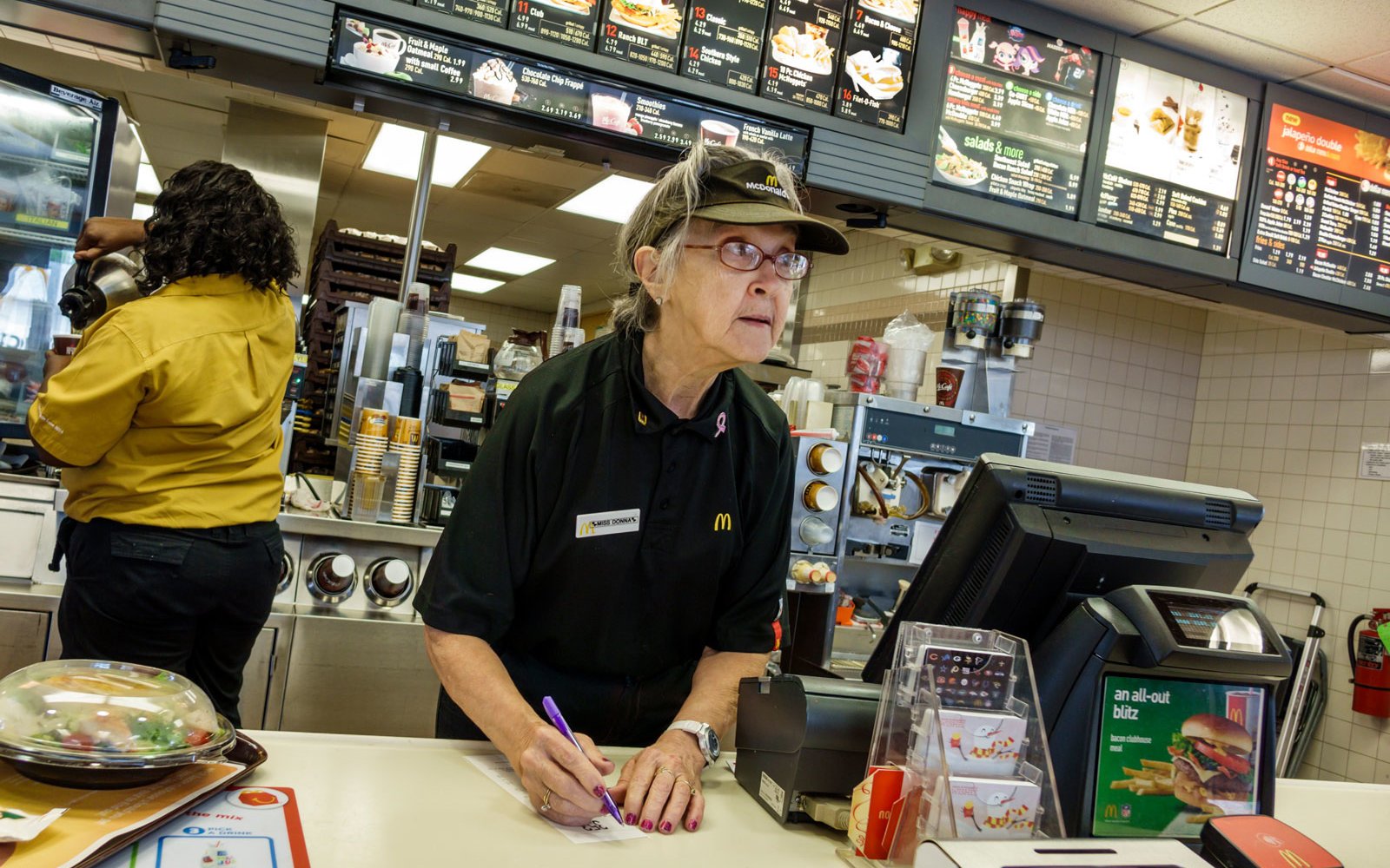 McDonald's Is Teaming up With AARP to Hire Older Workers