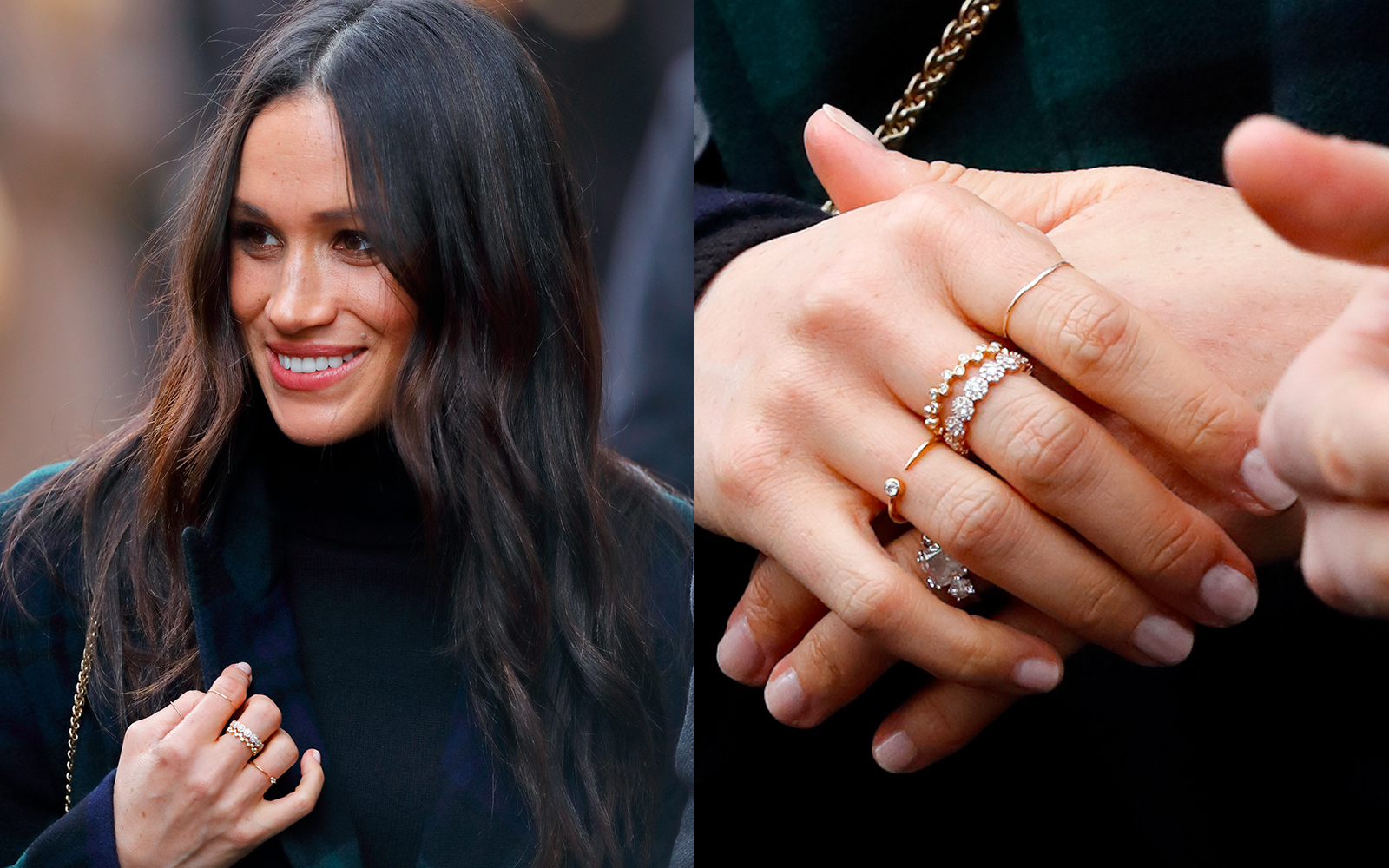 Meghan Markle Wearing Missoma Jewelry