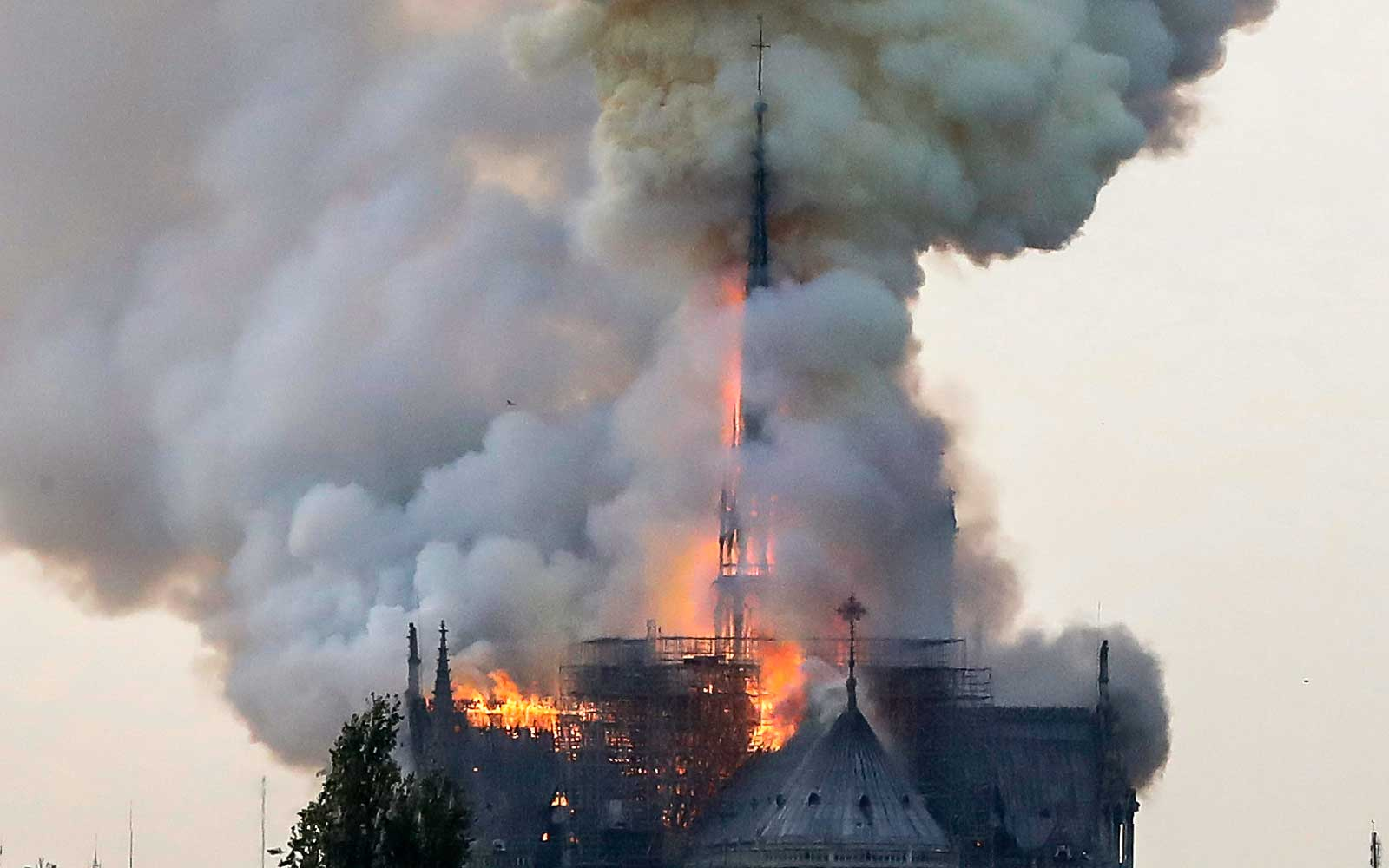 Notre Dame Fire: Paris Cathedral Engulfed in Flames
