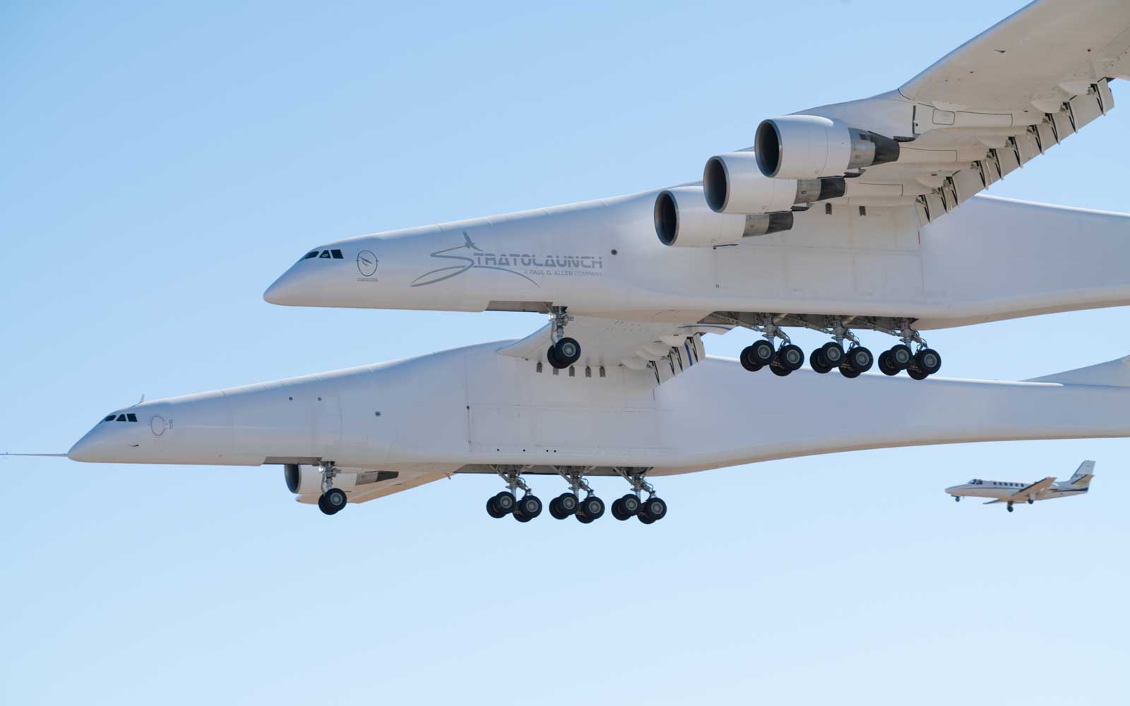 World's Largest Aircraft, Stratolaunch's first flight