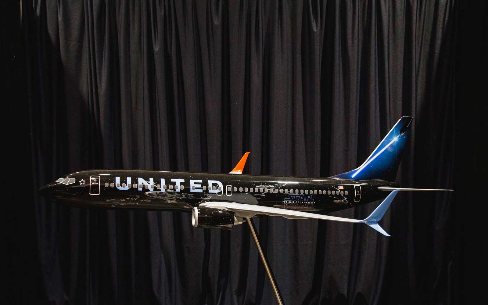 You Can Travel to a Galaxy Far, Far Away in United Airlines' New, 'Star Wars' Themed Plane