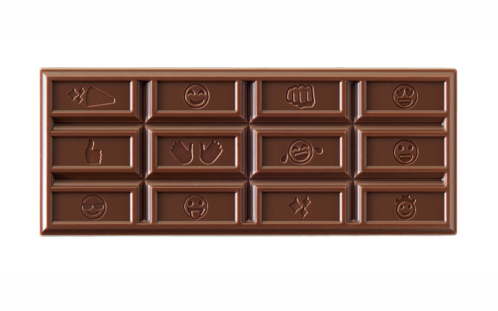 Hershey's Redesigns Its Chocolate Bar for the First Time in Over 100 Years to Include Emojis