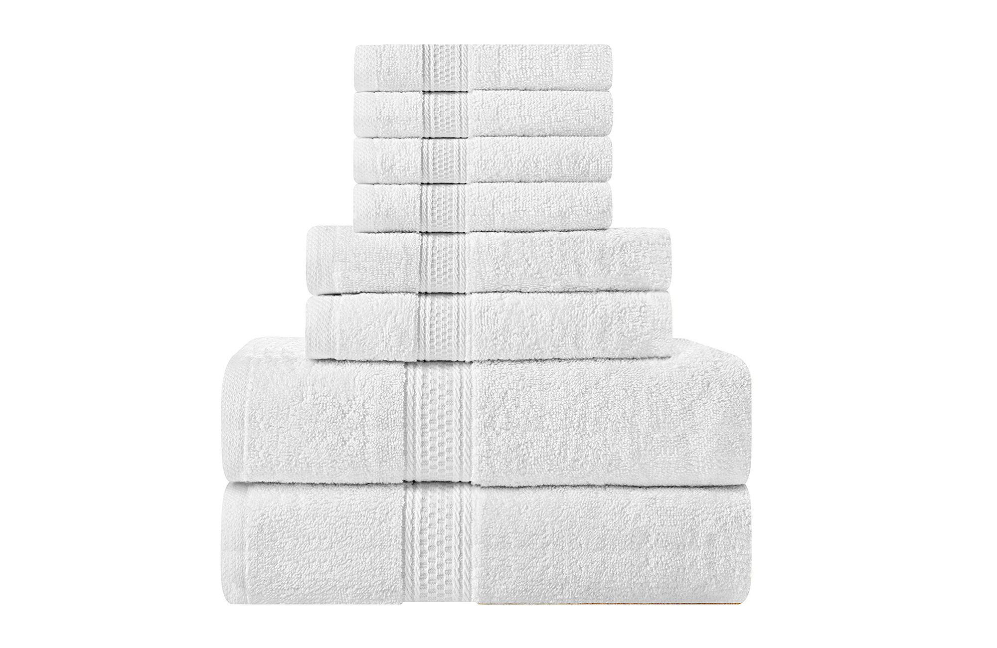 Best Bath Towel Set: Utopia Towels 8-Piece Towel Set