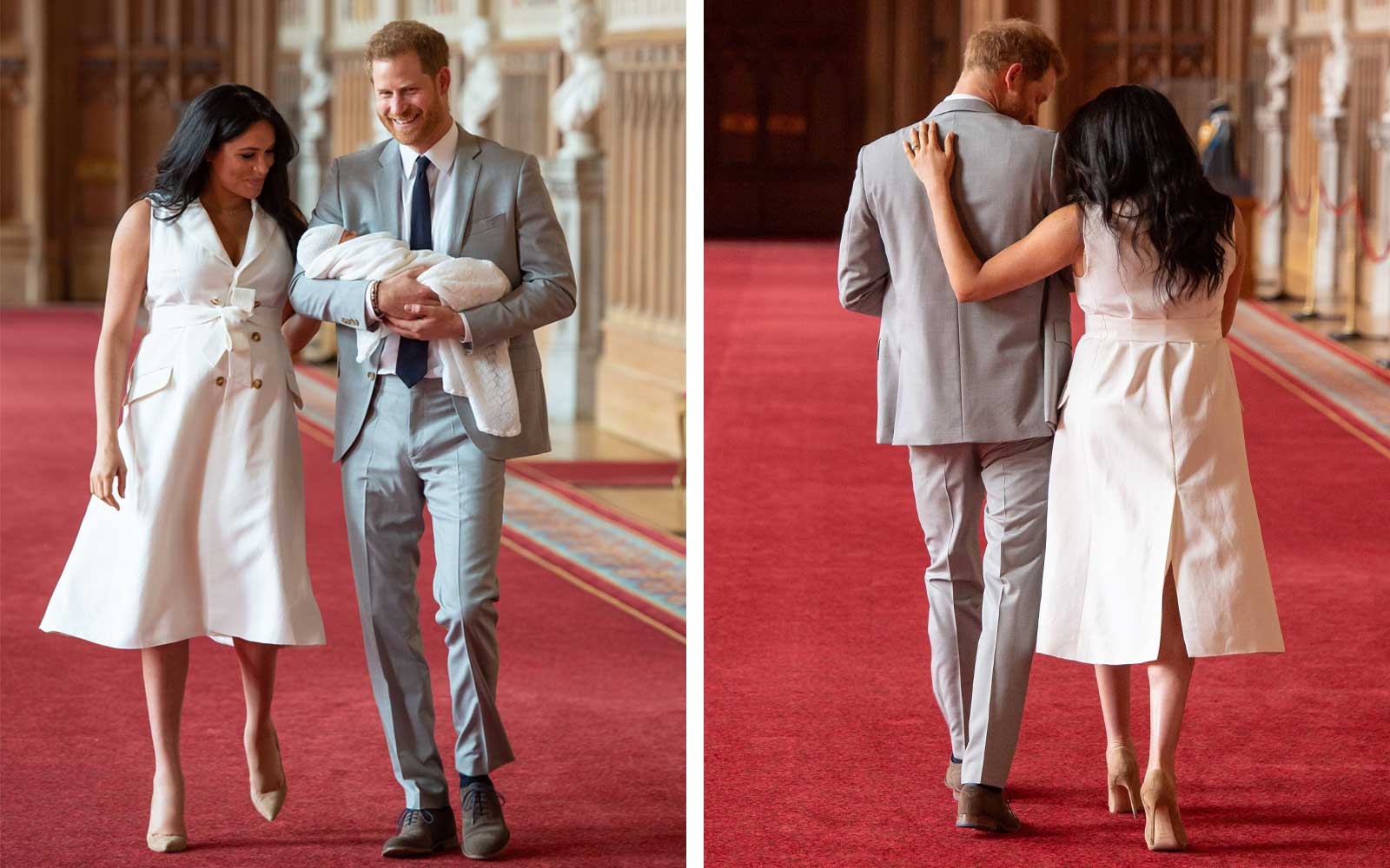 Prince Harry and Meghan Markle Share the First Photos of Baby Sussex