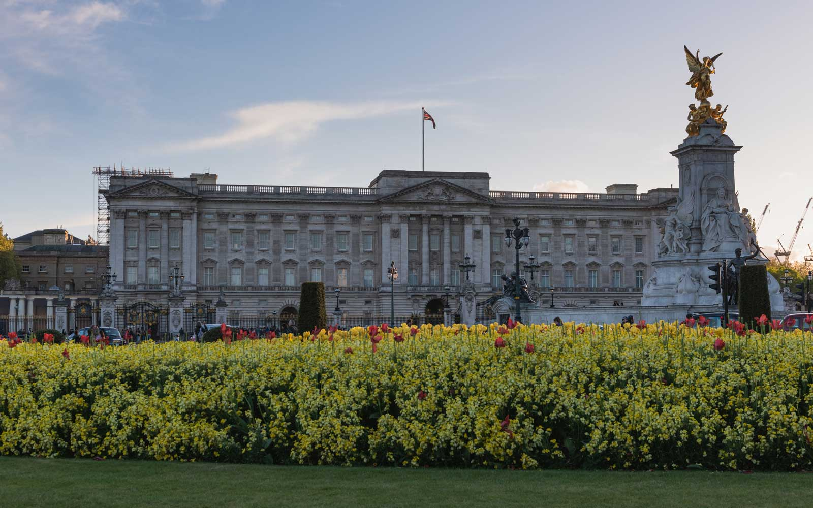 Here's a First Look at the Renovations Taking Place in Buckingham Palace