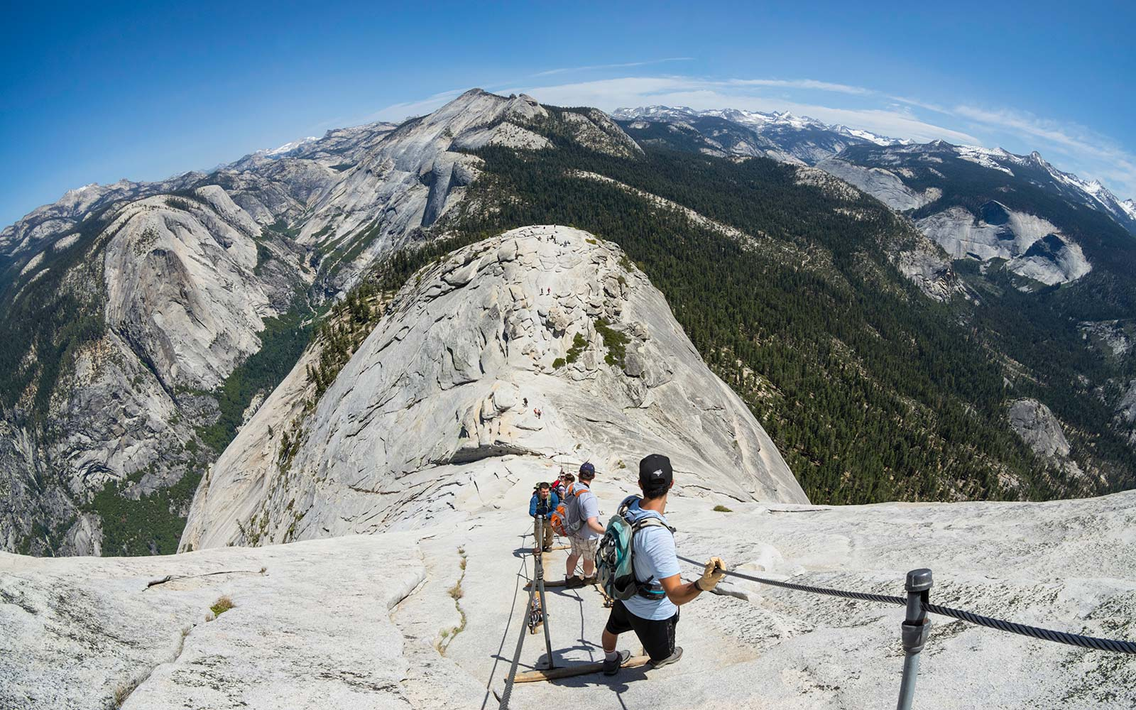 Half Dome Day Hike in Yosemite National Park is the Park's Most Difficult Hike