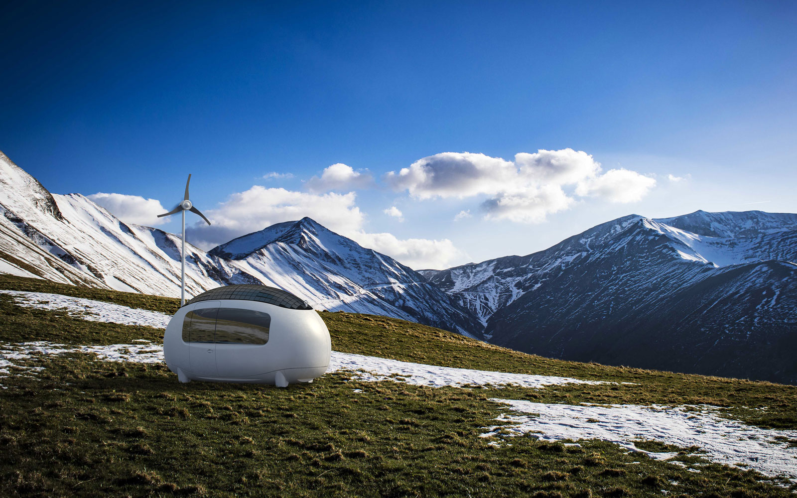 These Egg-shaped Pods Are the Most Stylish Way to Camp