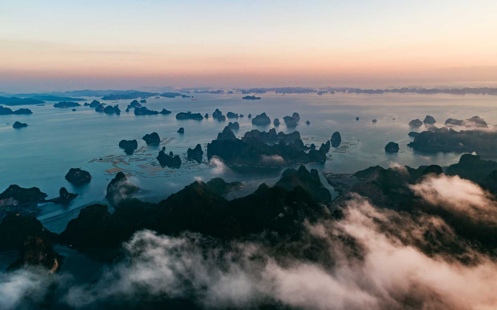 The Best Way to See Vietnam's Iconic Ha Long Bay Is by Soaring Over It in a Helicopter