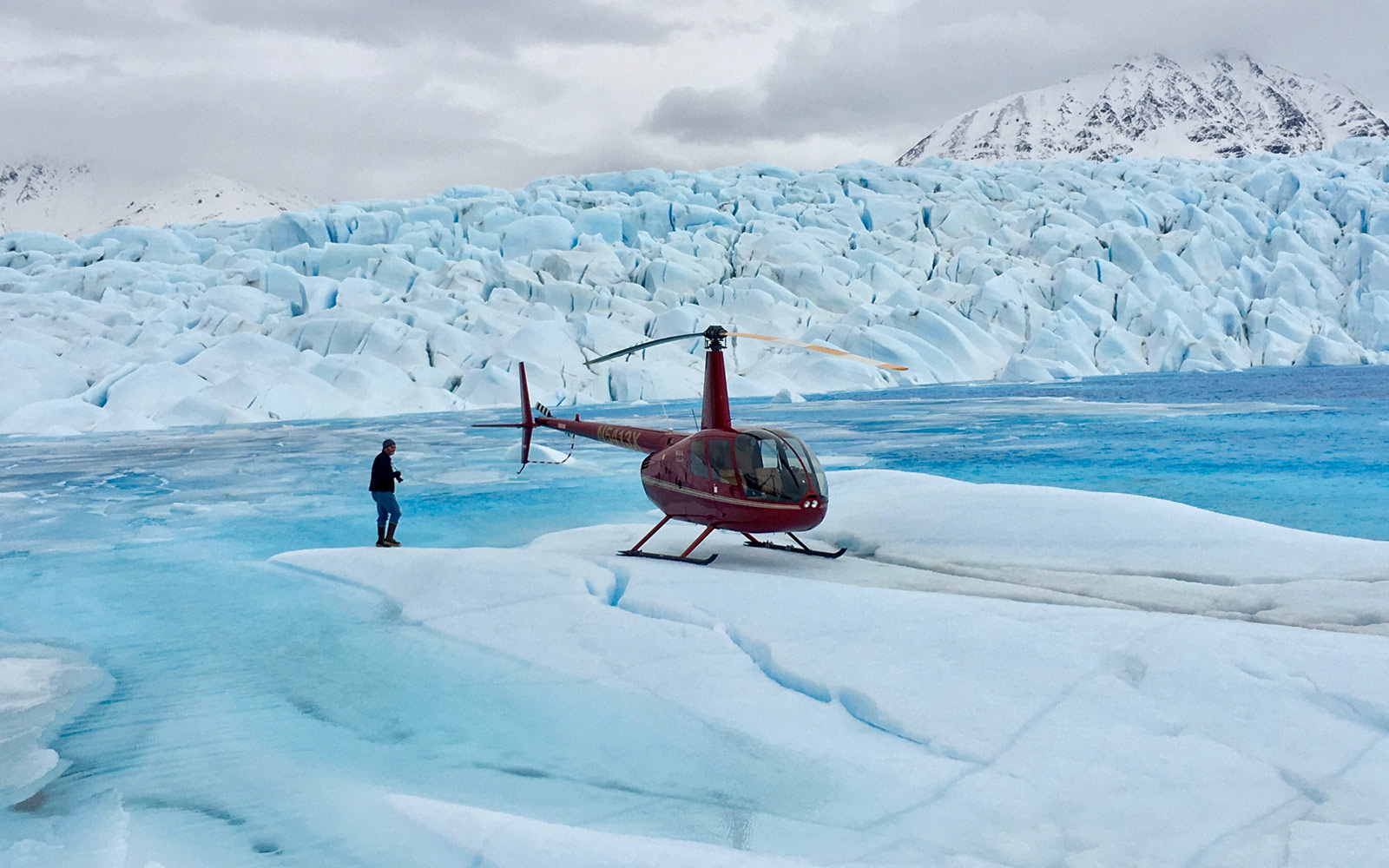 Helicopter Glacier, Knik River Lodge