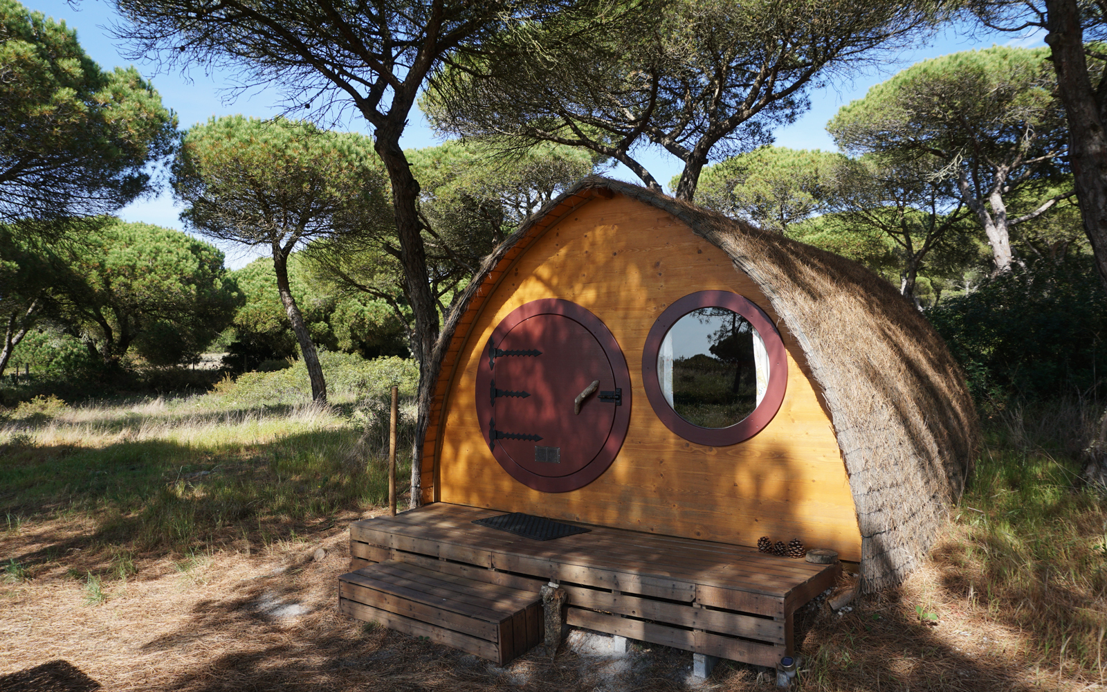 Hobbit house in Portugal