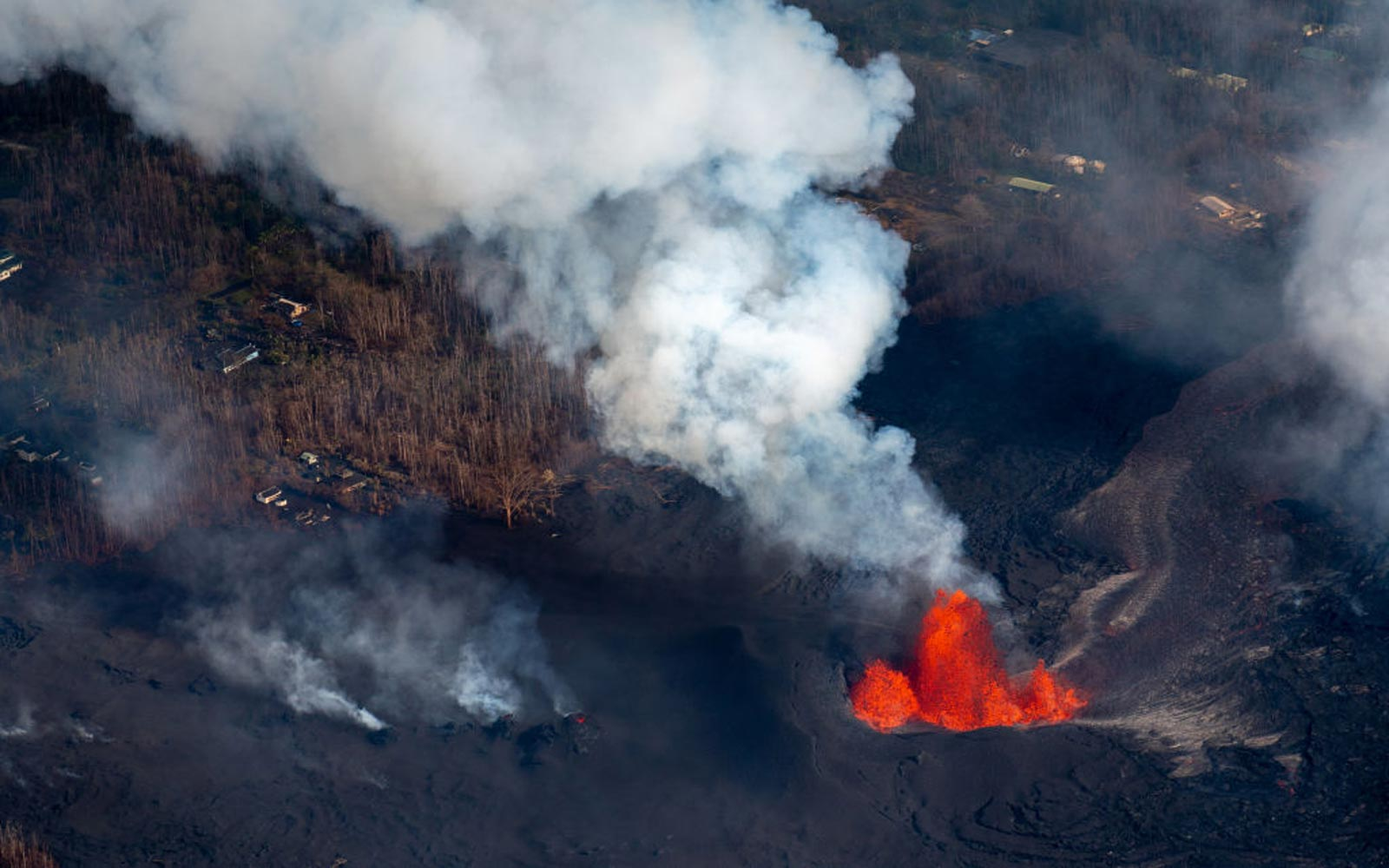 Hawaii Volcanoes National Park Reopens Popular Hiking Trail One Year After Eruption