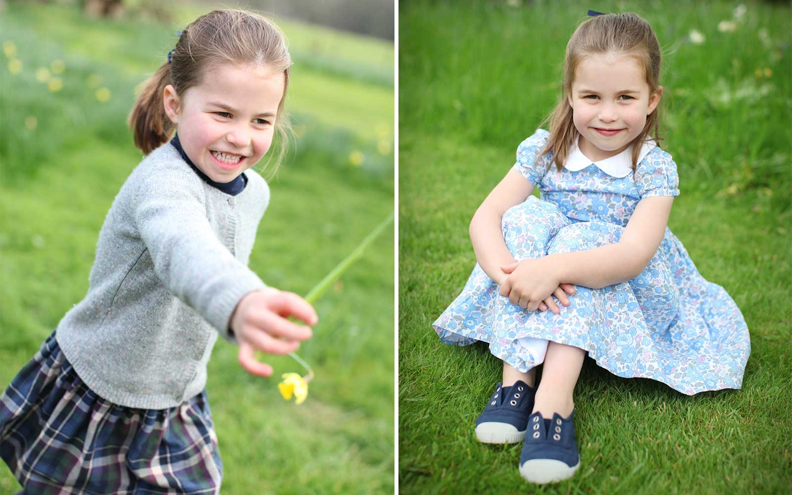 Princess Charlotte Turns 4 Today — See Her Adorable Birthday Photos Taken by Kate Middleton