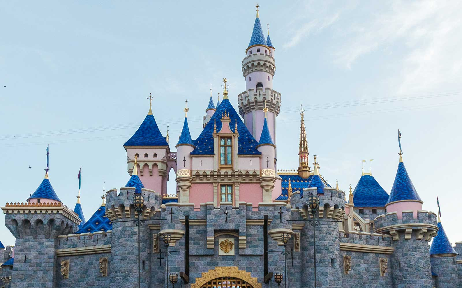 New Sleeping Beauty Castle at Disneyland