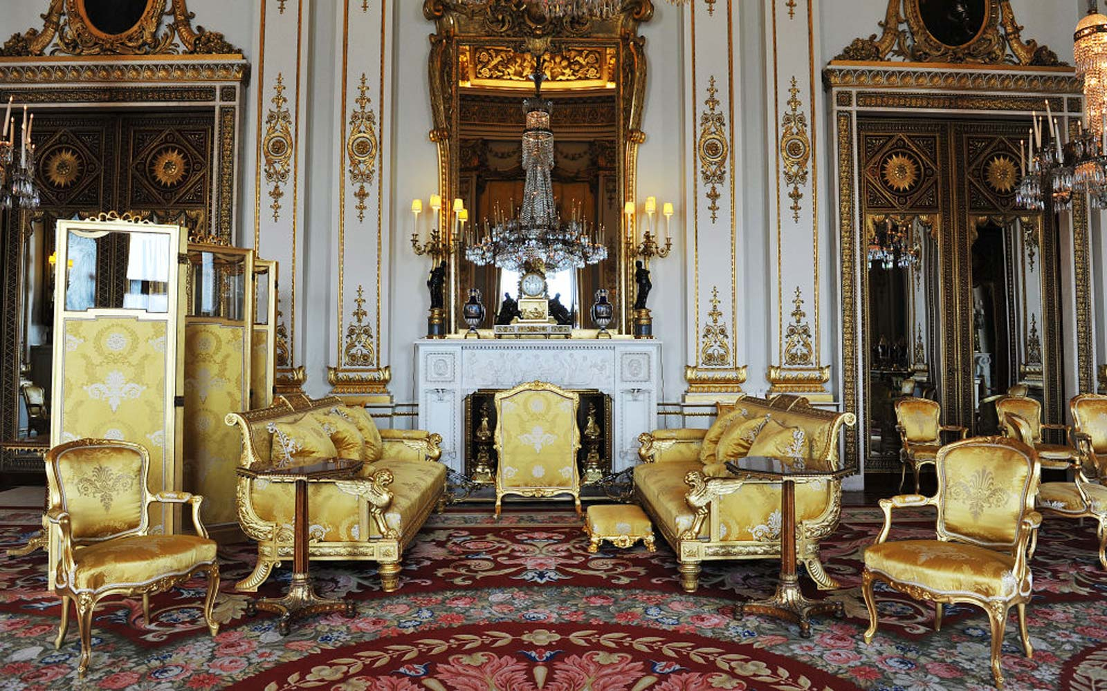 You Can Get a Rare Glimpse of Buckingham Palace's White Drawing Room and the Queen's Secret Door This Summer