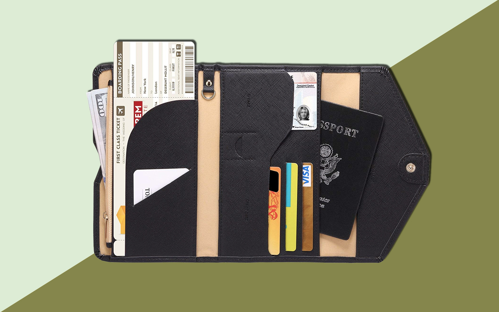 This $14 Passport Wallet Comes in 35 Colors and Has Over 2,600 Rave Reviews on Amazon