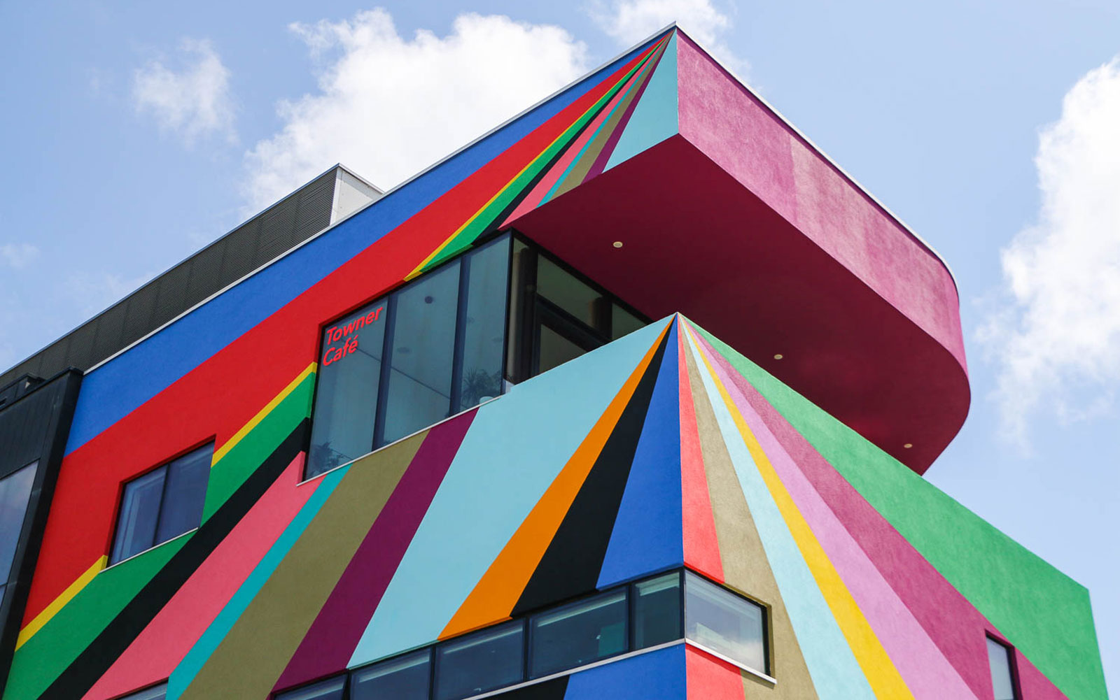 This Art Gallery in the U.K. Got a Vibrant, Rainbow Makeover