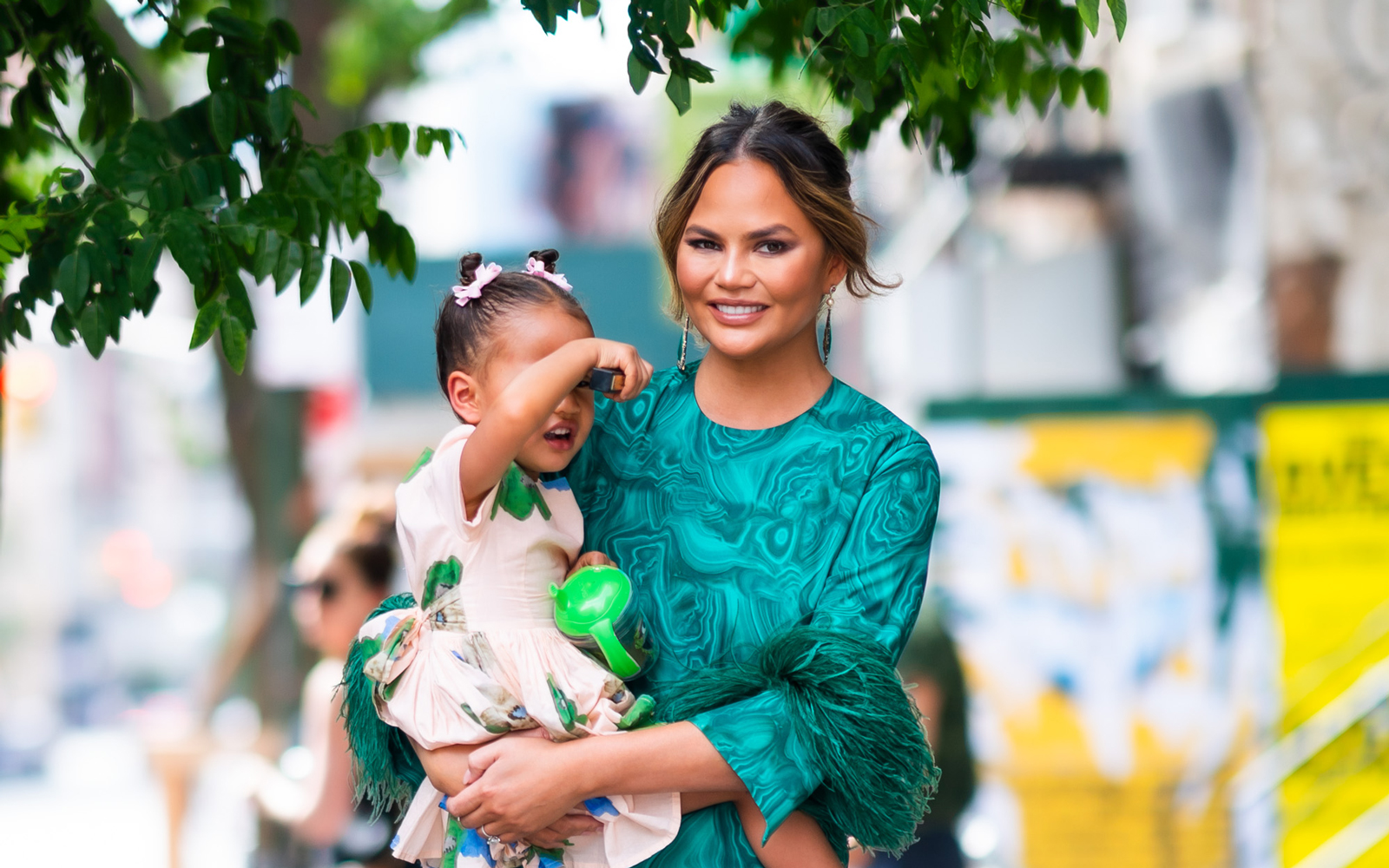 Chrissy Teigen Asked Twitter Whether or Not She Could Bring Cold Gravy on a Plane