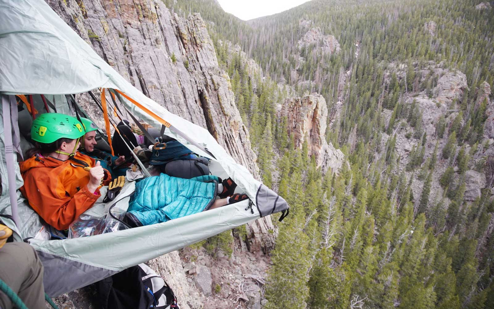 Cliff Camping with Airbnb Experiences