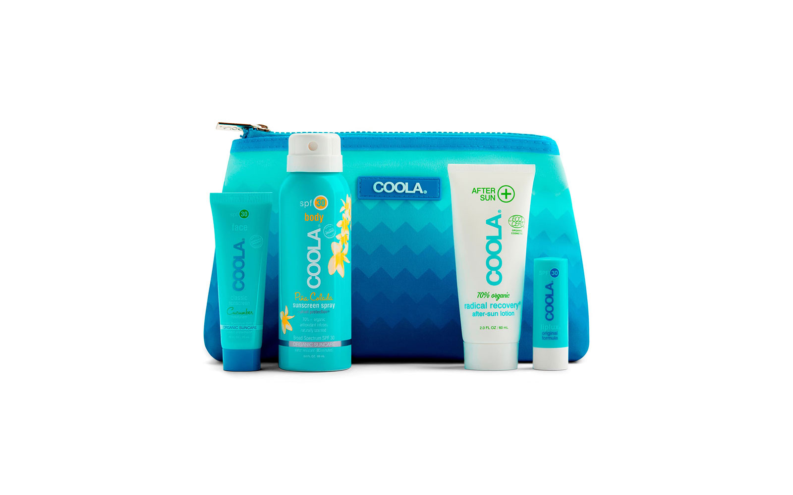 Coola travel suncare kit