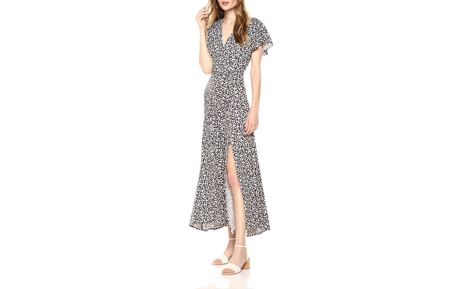 4ae7d5f8b8 French Connection Women's Aubi Rayon V-neck Maxi Dress. Summer Maxi Dresses