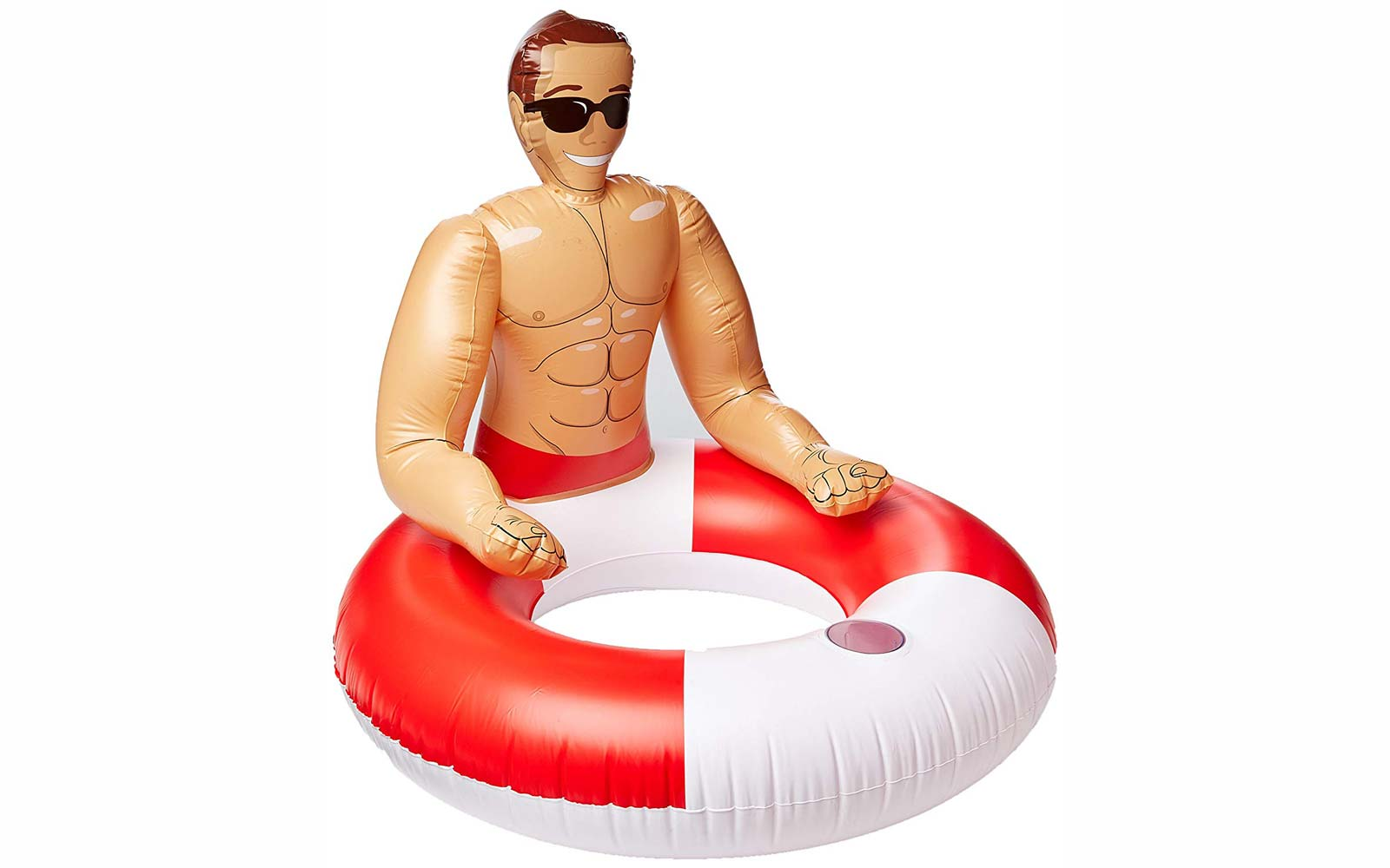 Meet Chad, the Hunky 'Boyfriend' Pool Float That's Making Waves on Amazon