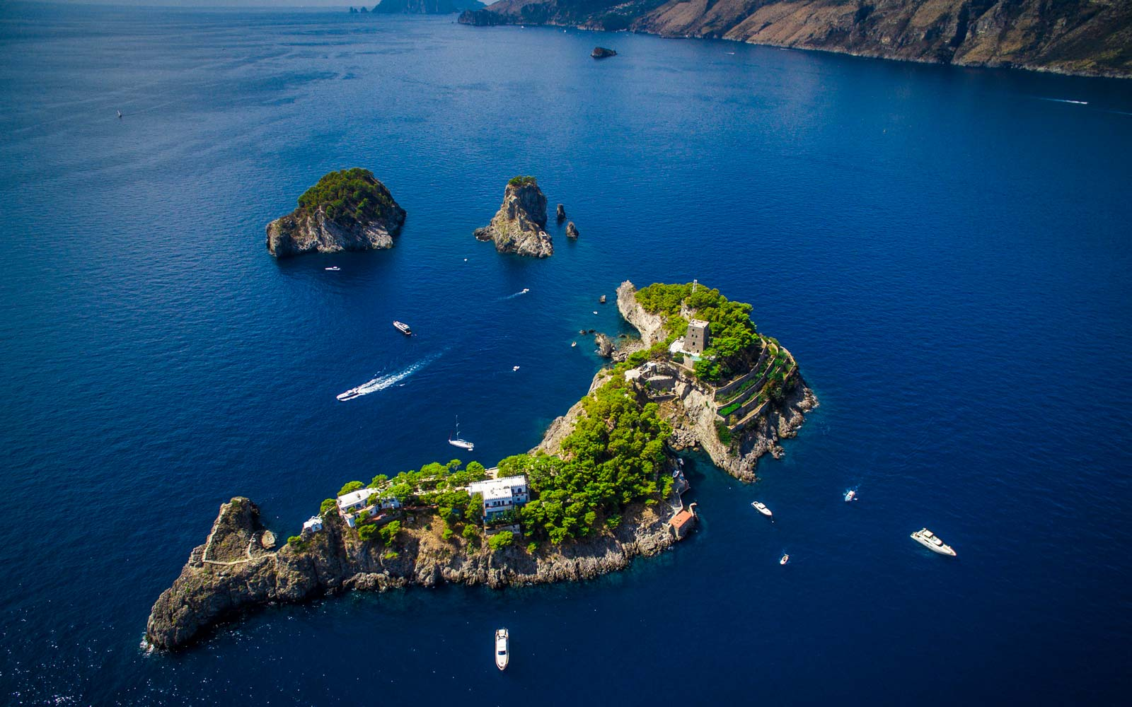 This Island Is Literally Shaped Like a Dolphin